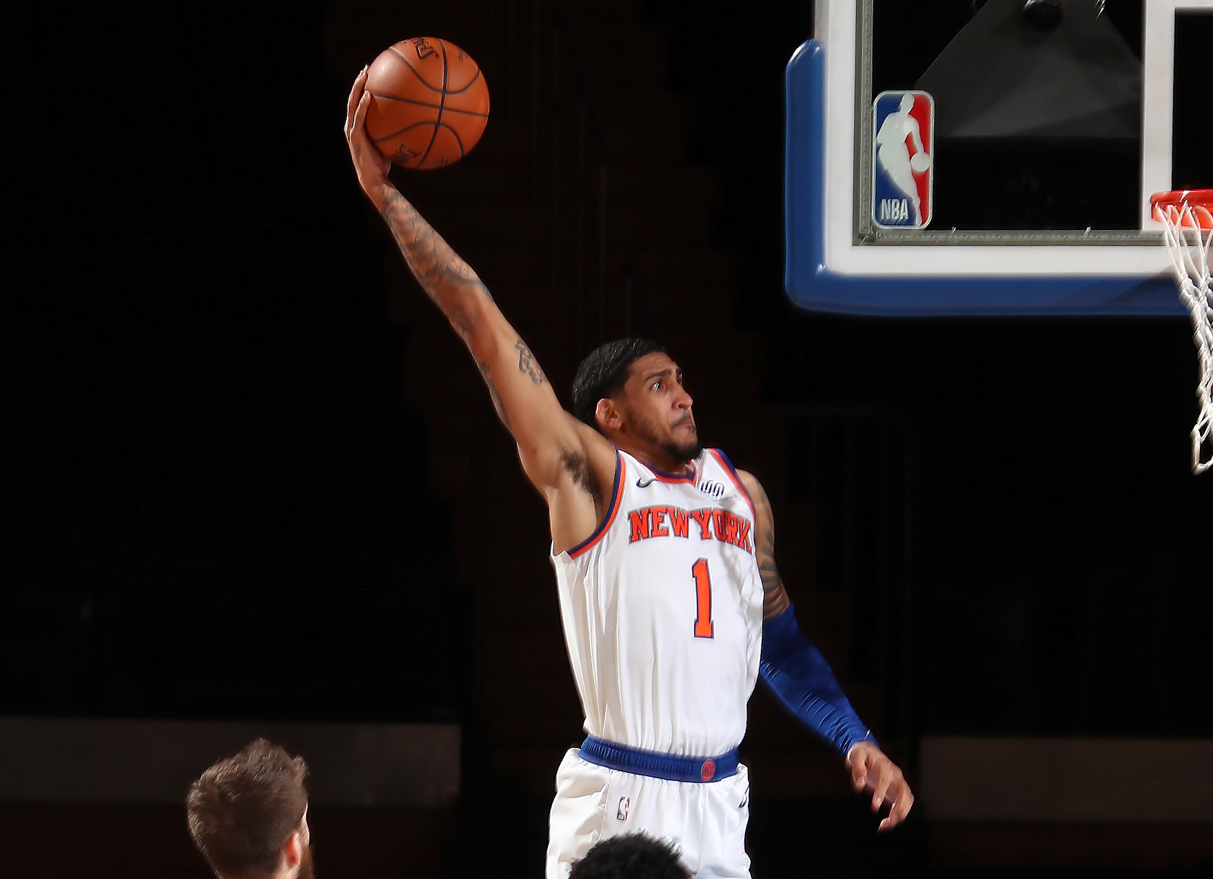 Knicks rookie Obi Toppin sidelined at least 7-10 days with strained right calf