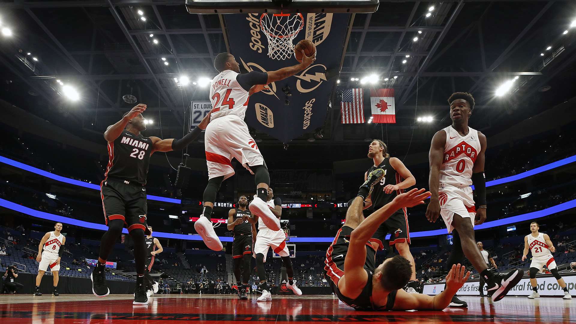 We The South: Raptors settling into their Tampa home