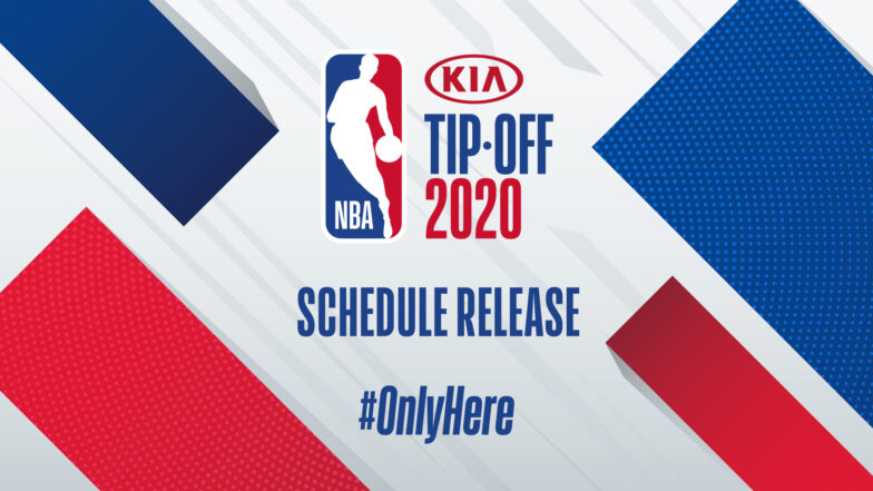 NBA unveils game and national television schedules for first half