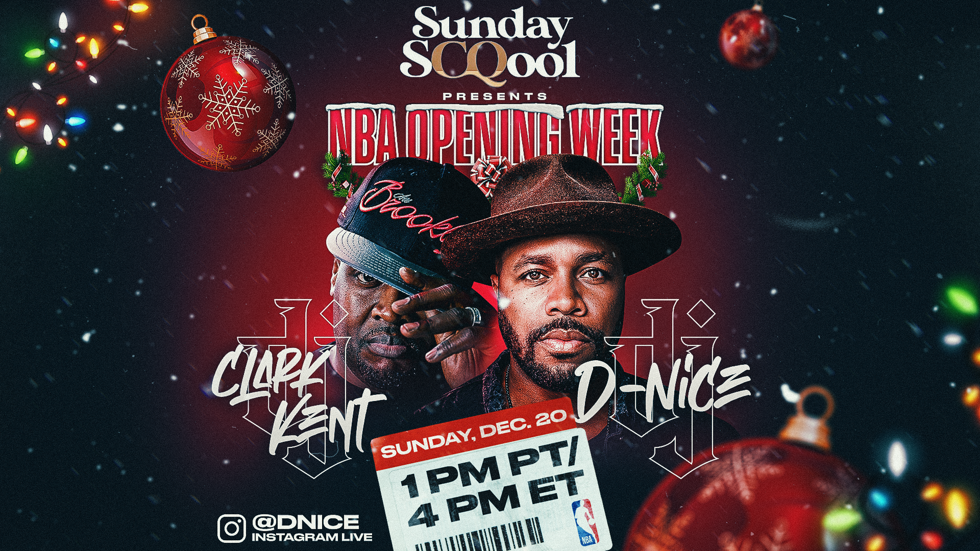 Sunday Scqool presents NBA Opening Week