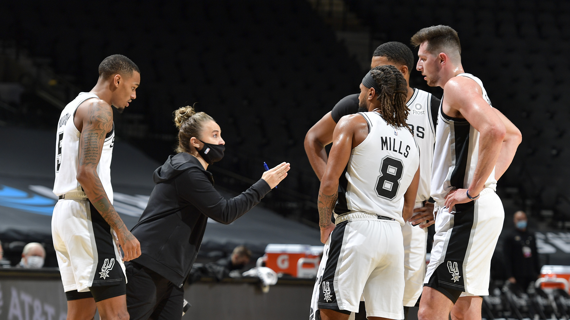 Spurs' Becky Hammon first woman to direct NBA team