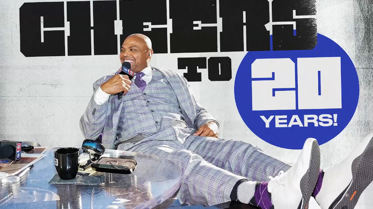 Celebrating Chuck's 20 years on Inside the NBA