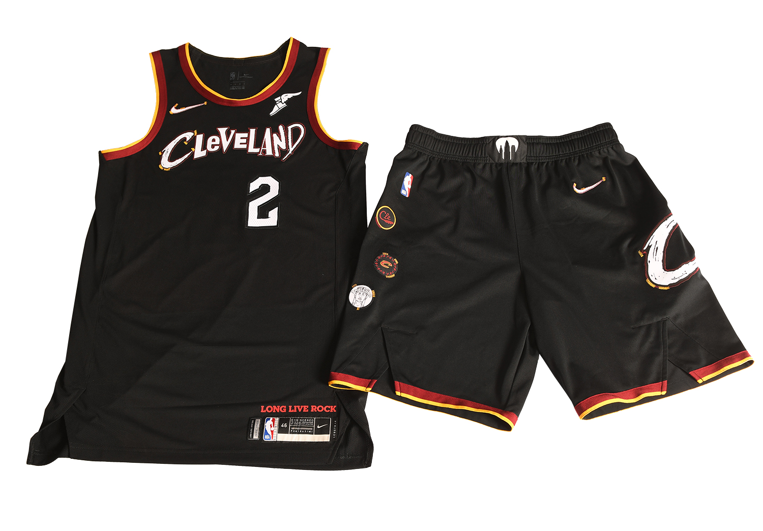 Cavaliers celebrate rock 'n' roll with City Edition uniform