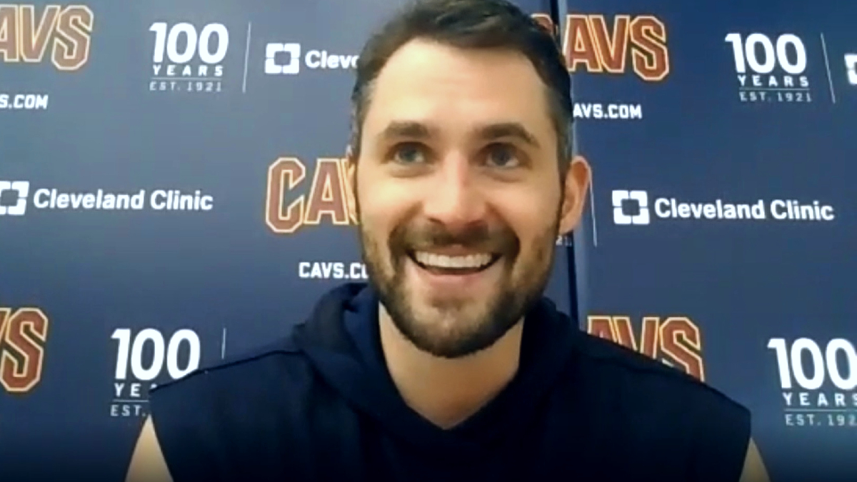 Kevin Love back for Cavs after missing opener with calf injury
