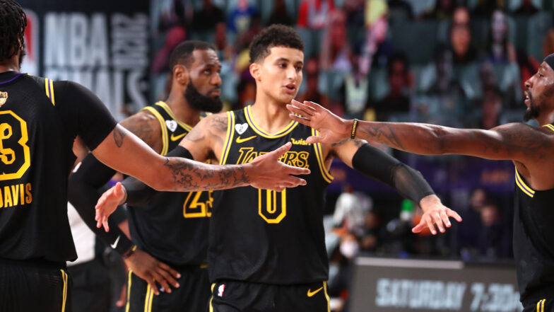 Kyle Kuzma agrees to 3-year, $40-million deal with Lakers