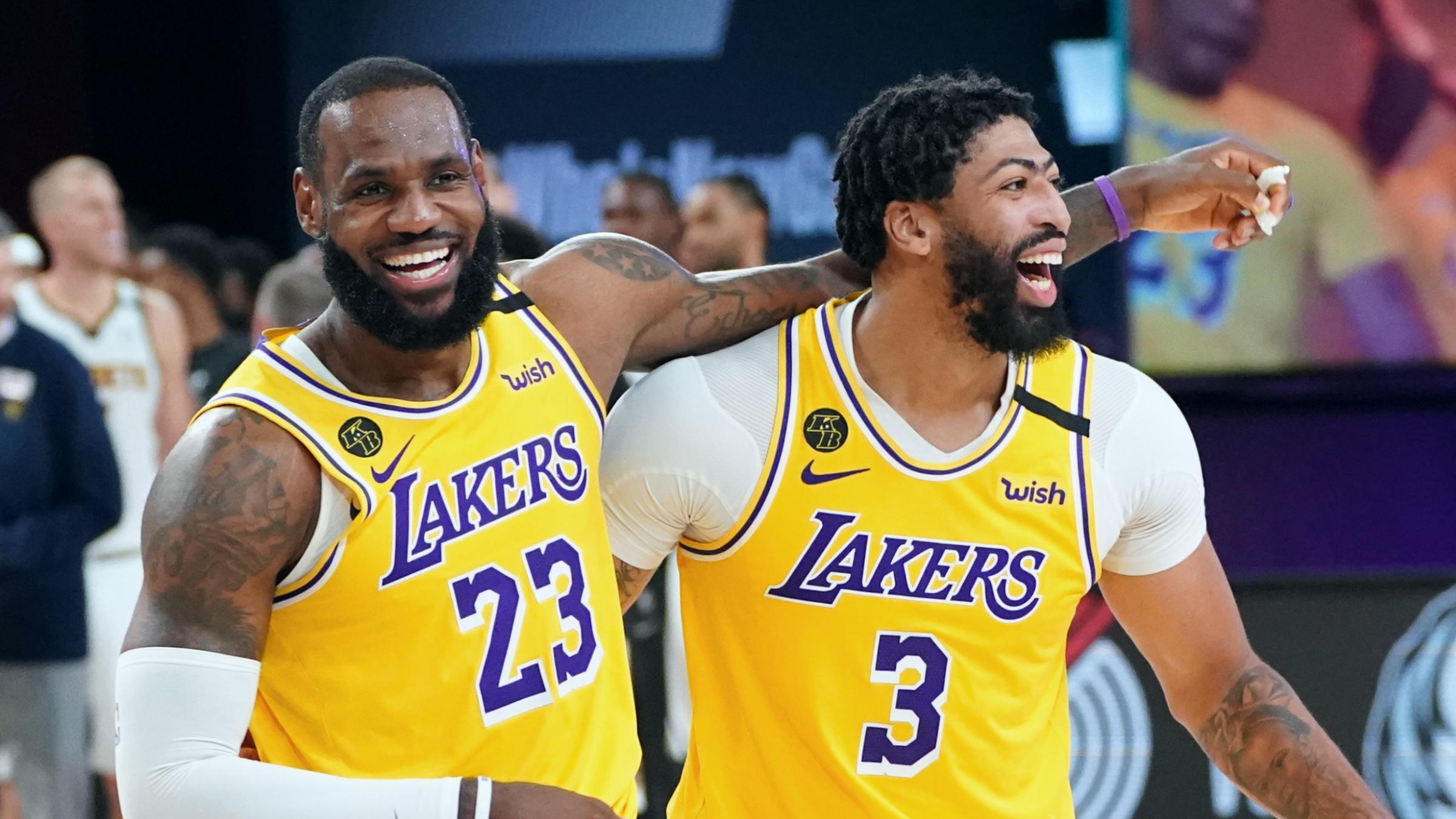 Lakers Announce New Deals For Davis, LeBron