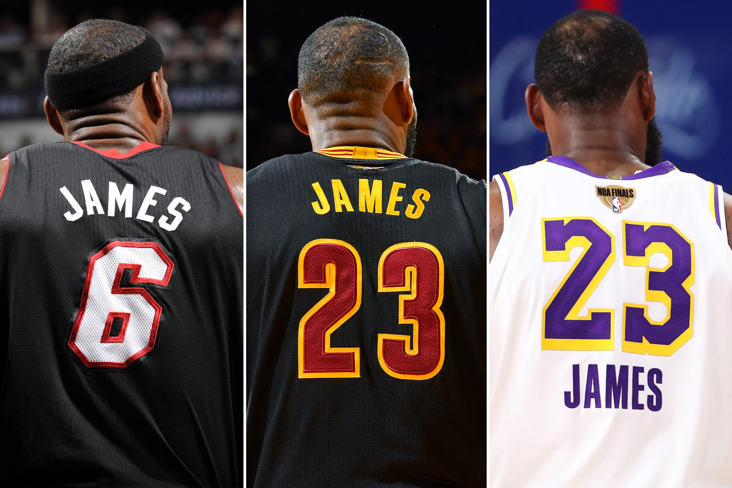LeBron on course to join legends with jerseys retired by multiple teams