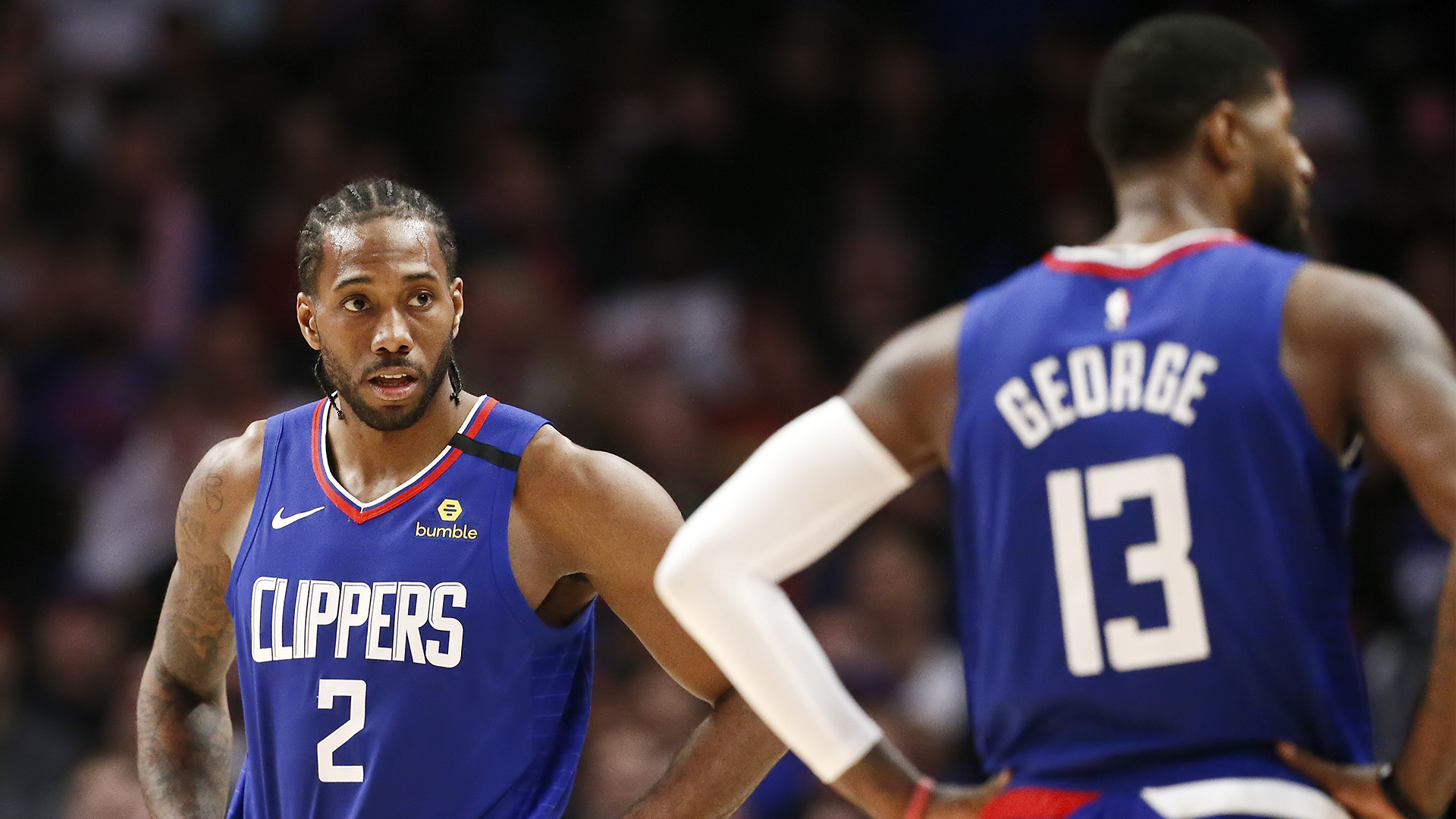 Kawhi Leonard, Paul George motivated to get Clippers back on track