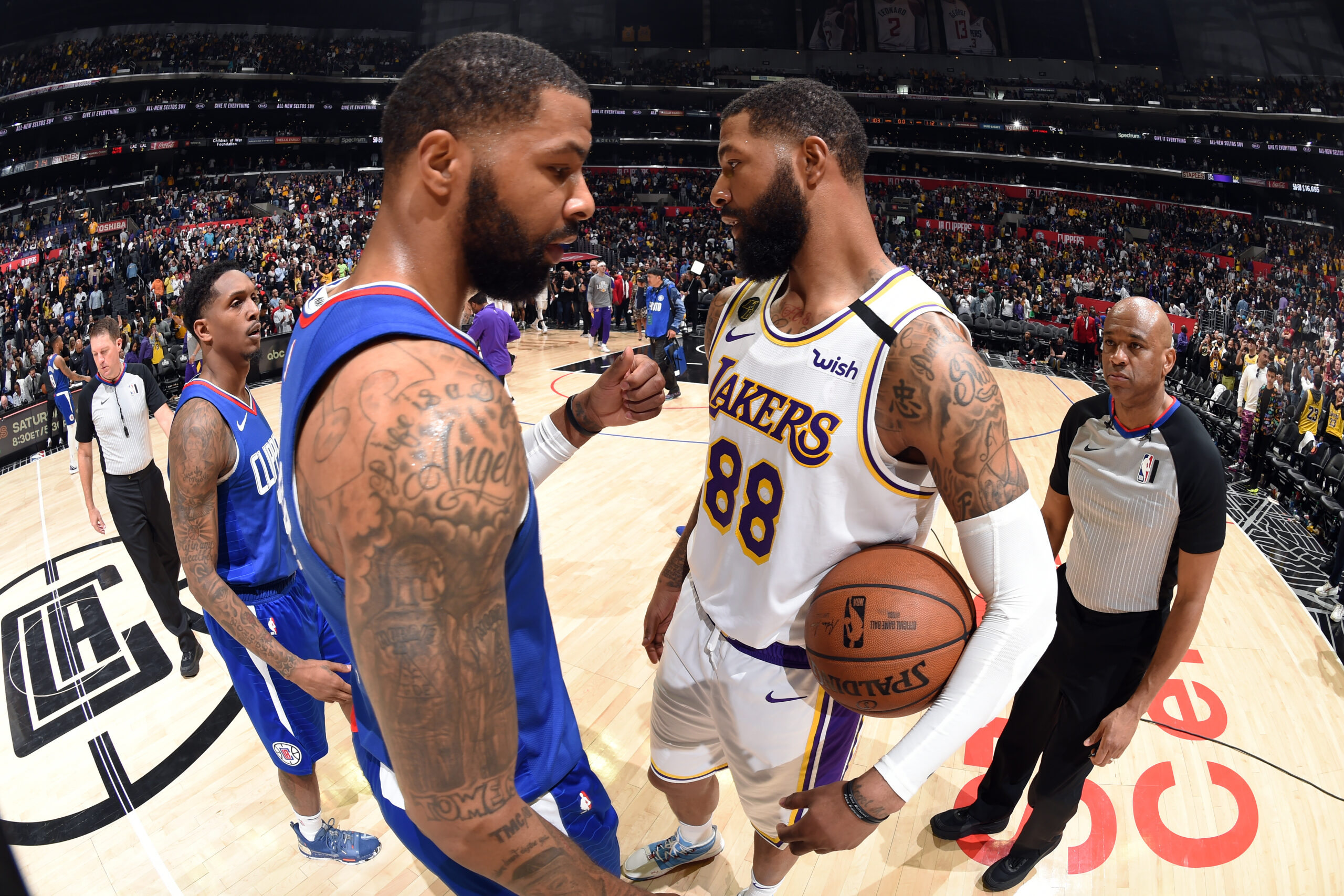 The Q&A: Marcus and Markieff Morris ready for another season in L.A.