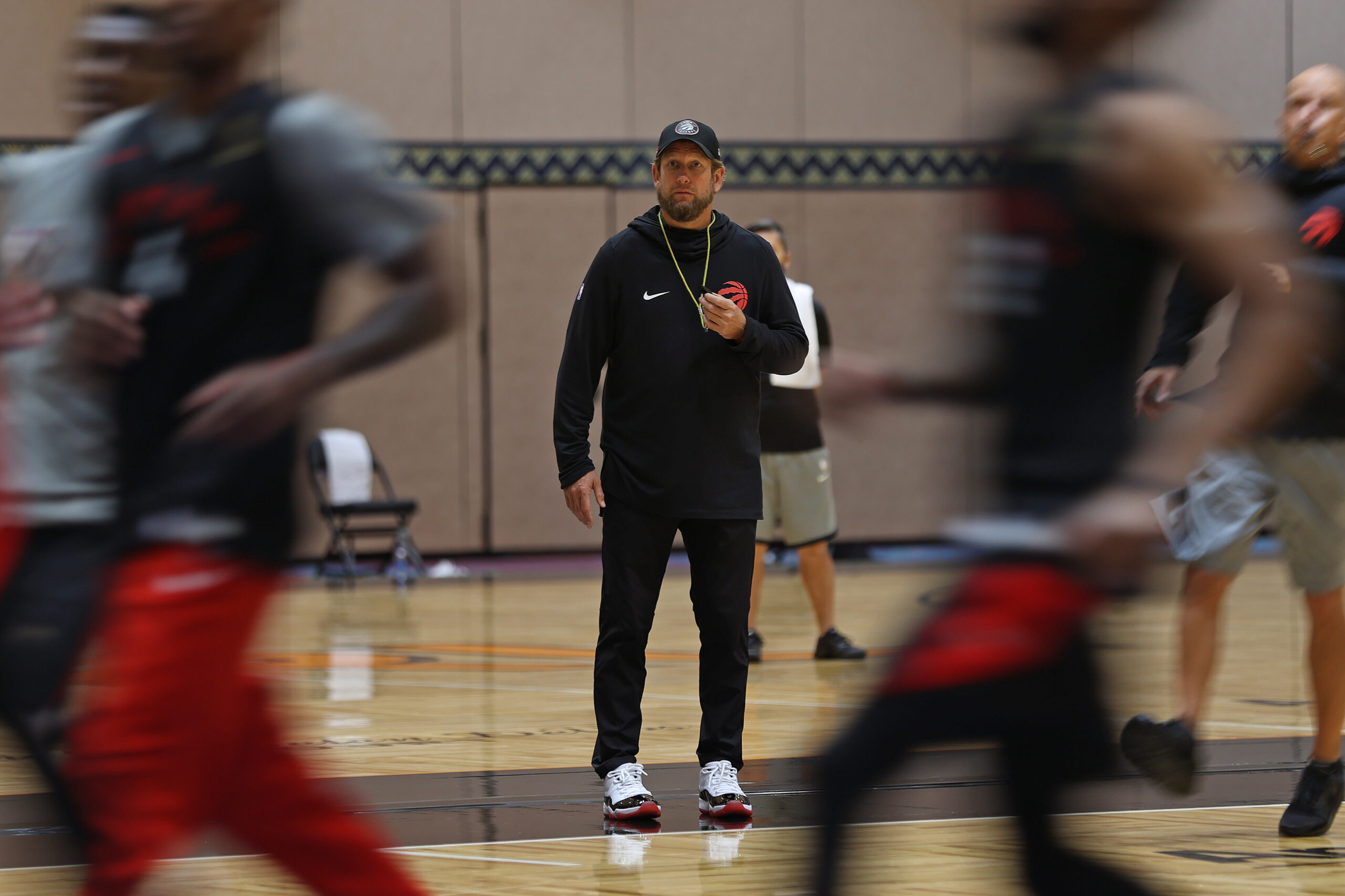 Raptors begin training camp in Tampa, embrace 'unique experience'