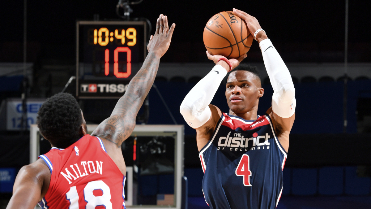 Russell Westbrook begins Wizards tenure with triple-double on opening night
