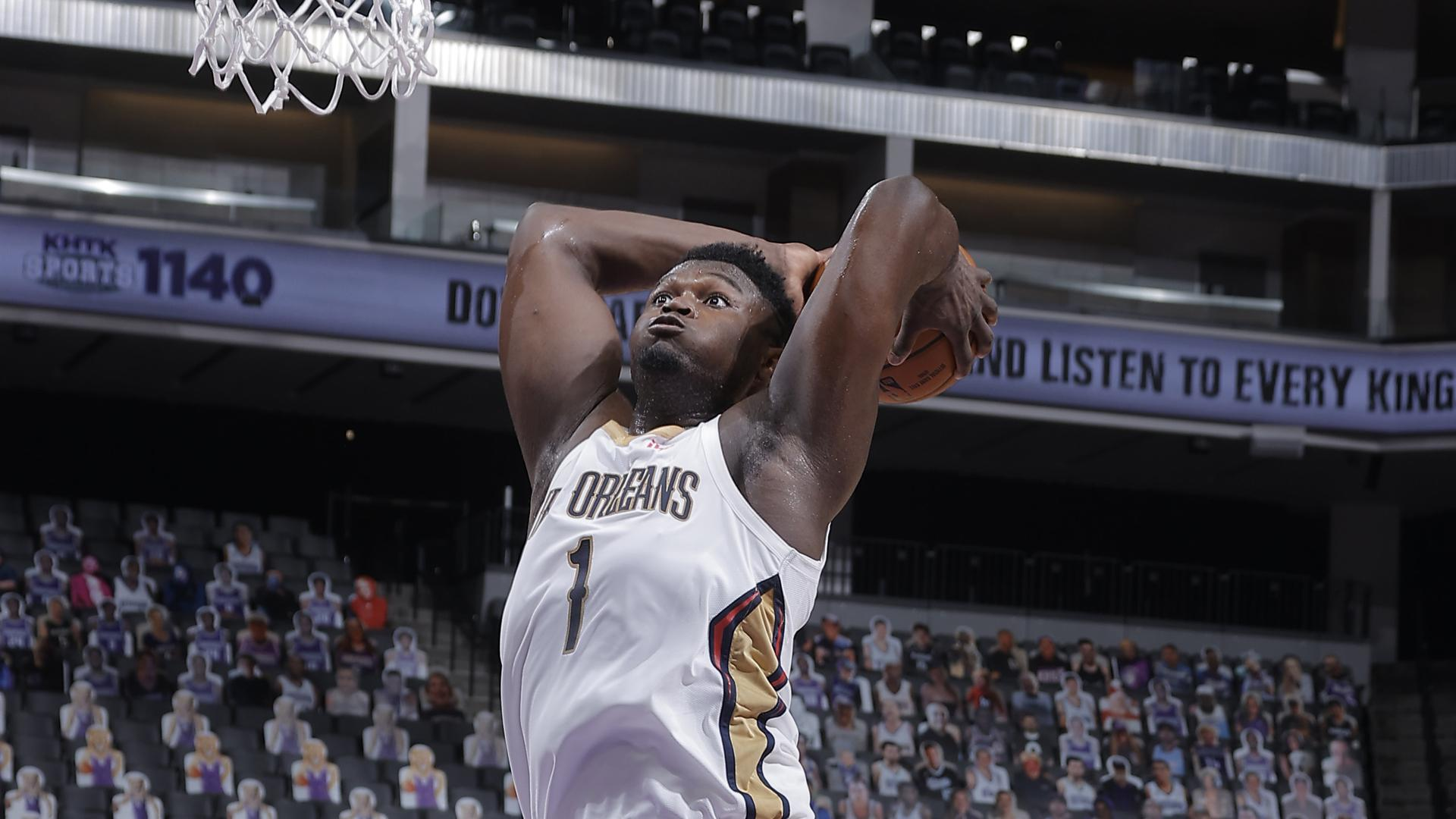 Pelicans Stat Leader Highlights: Zion Williamson leads Pelicans with 31 points vs. Kings
