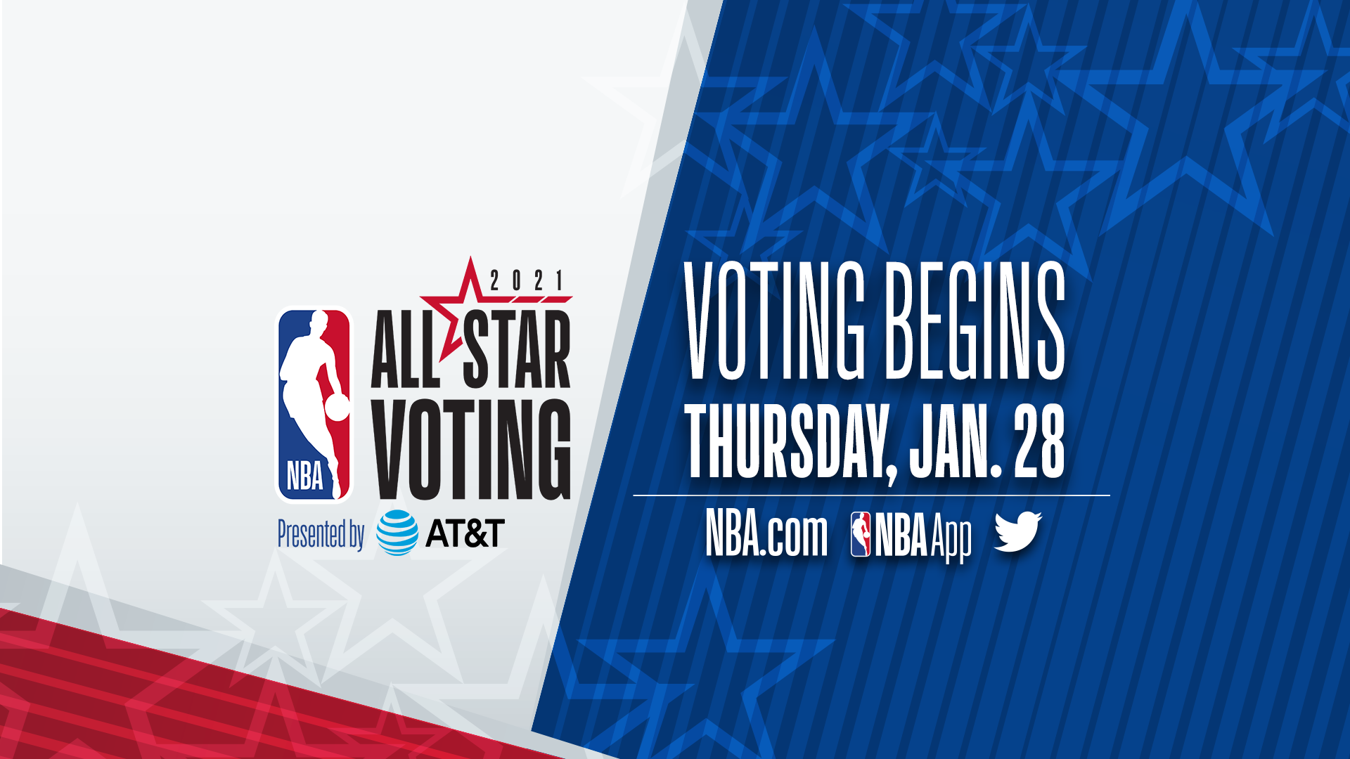 NBA All-Star Voting presented by AT&T tips off today