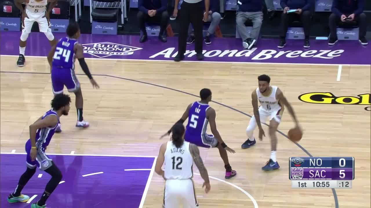 Pelicans Stat Leader Highlights: Steven Adams posts 12 points & 15 rebounds vs. Sacramento Kings
