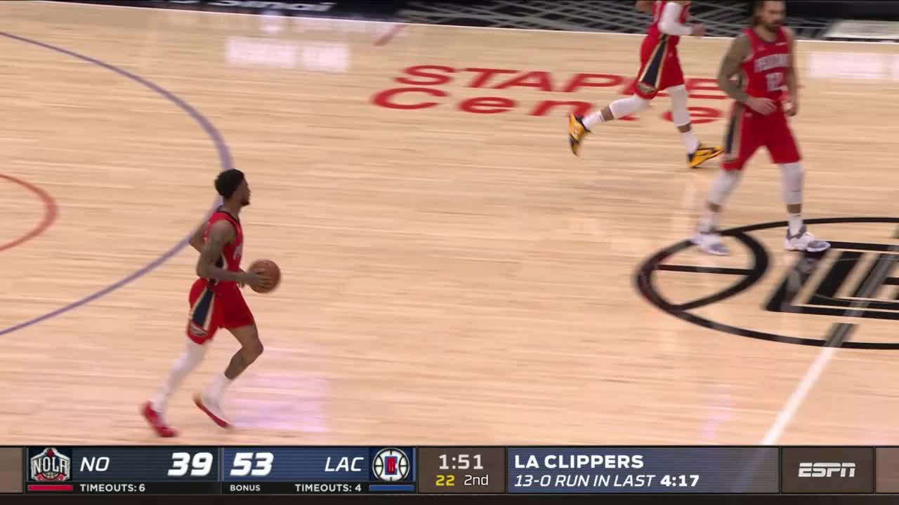 Highlights: Nickeil Alexander-Walker drops 37 against the LA Clippers