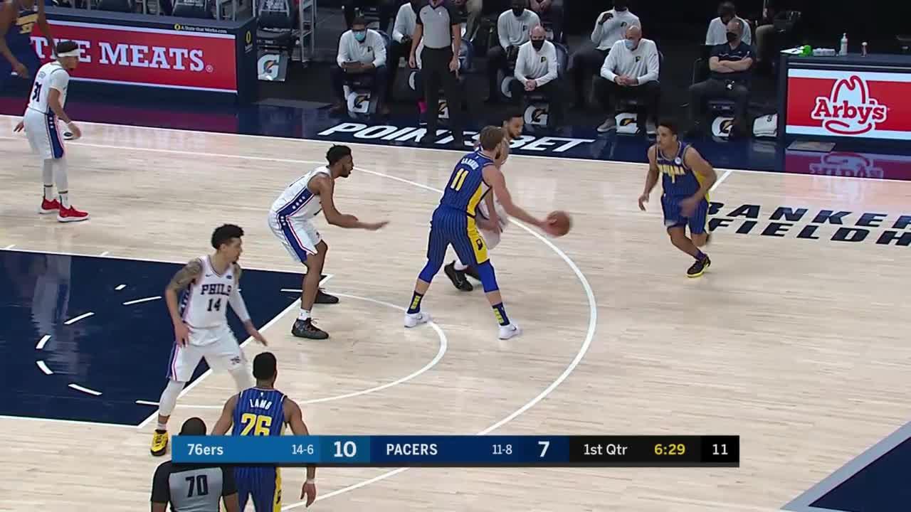 Malcolm Brogdon (25 points) Highlights vs. Philadelphia 76ers