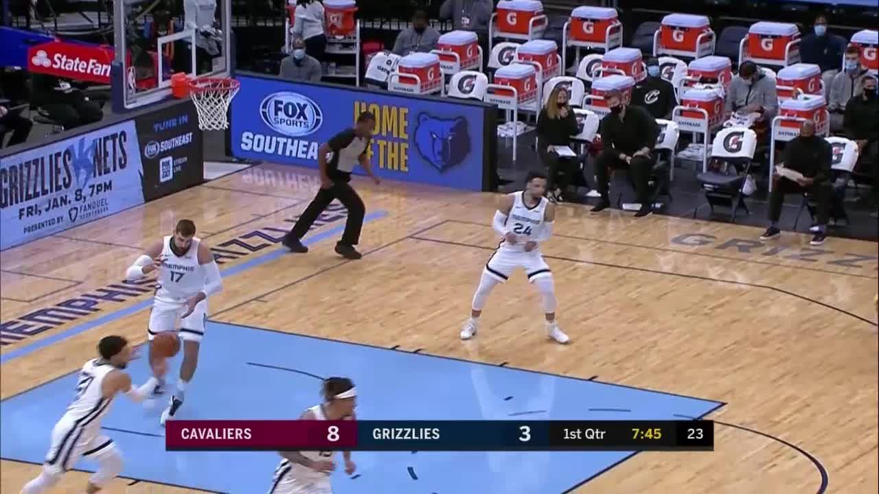 Andre Drummond Posts 22 points & 15 rebounds vs. Memphis Grizzlies