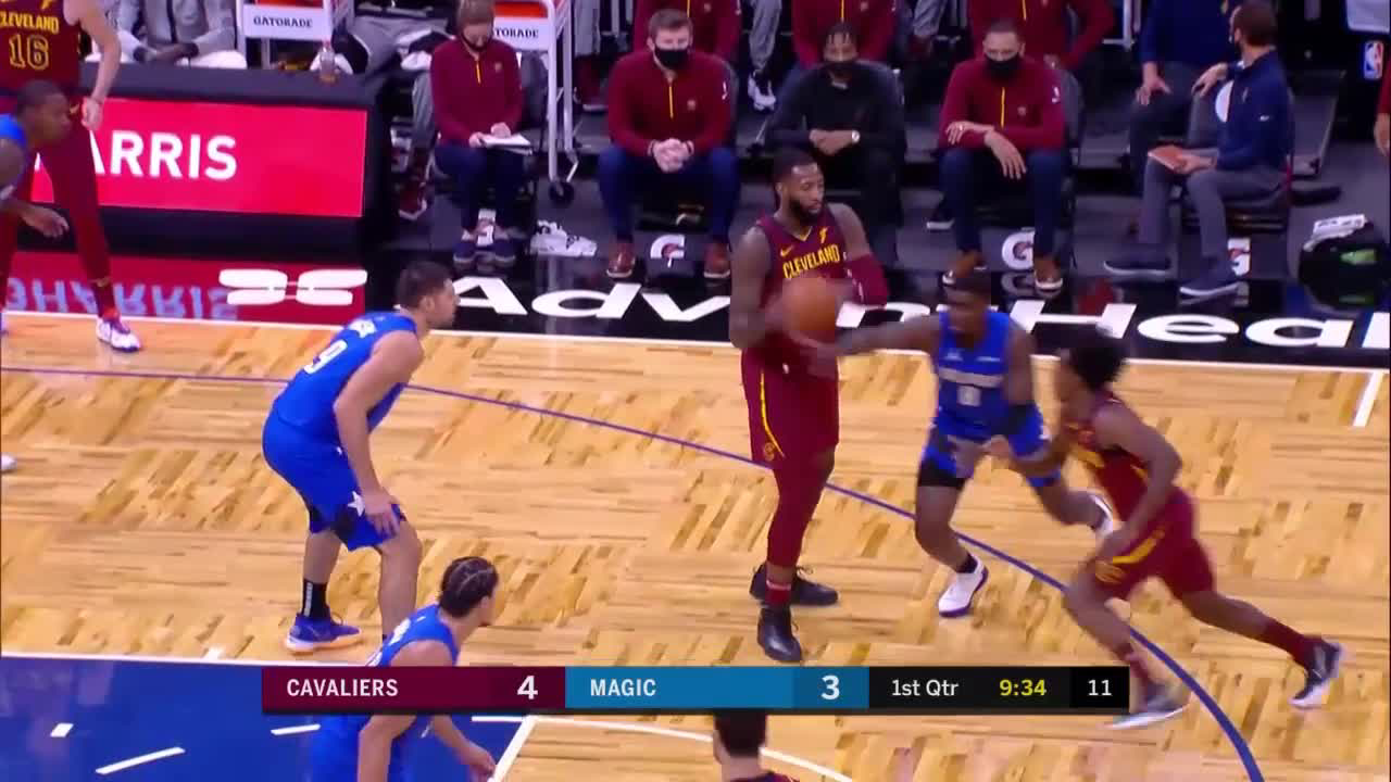 Andre Drummond Posts 19 points & 15 rebounds vs. Orlando Magic