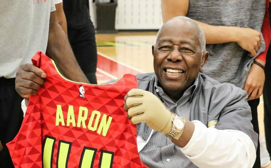 NBA family reacts to Hank Aaron's death
