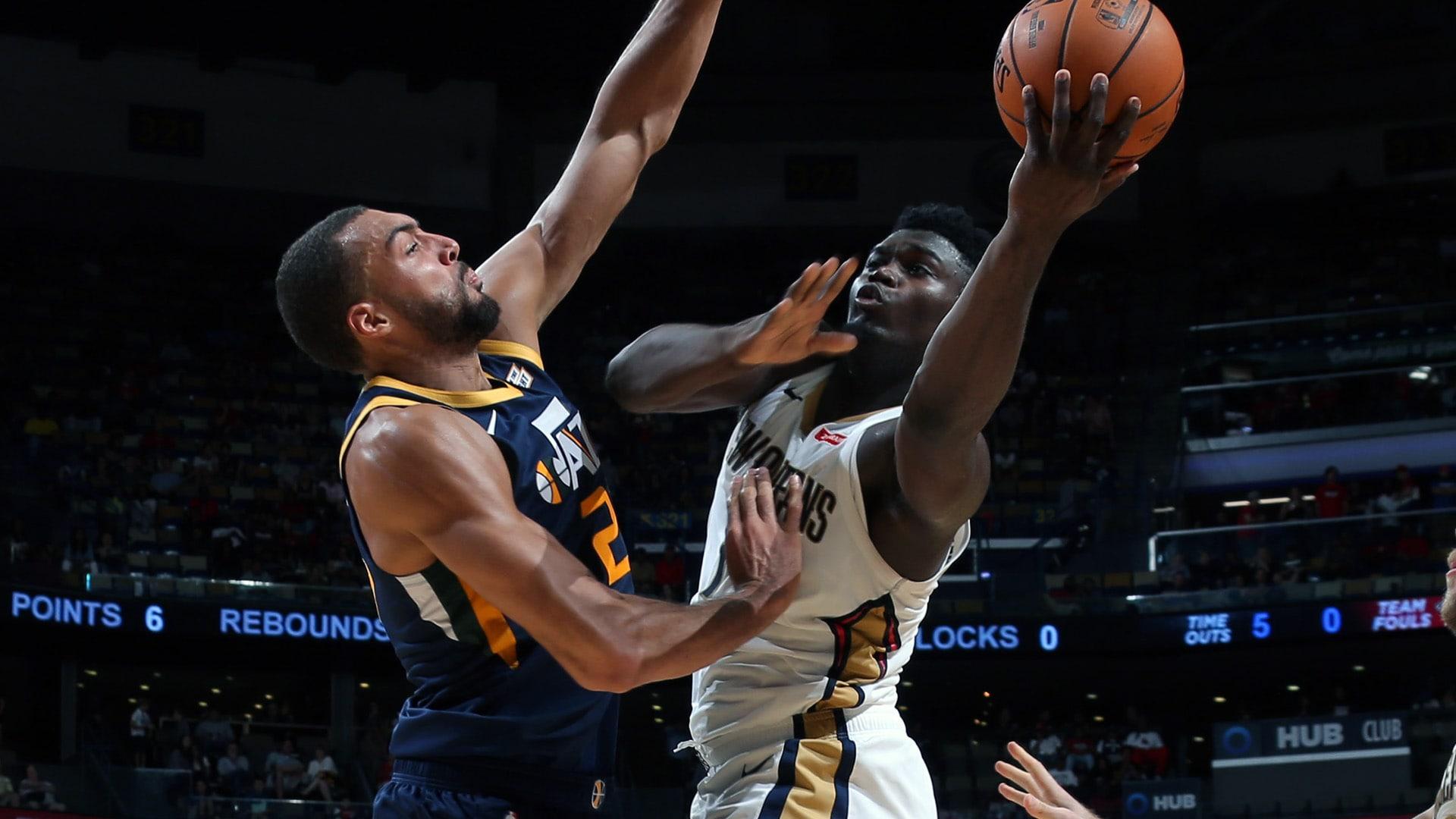 Pelicans, Jazz Begin 2-Game Set In Utah