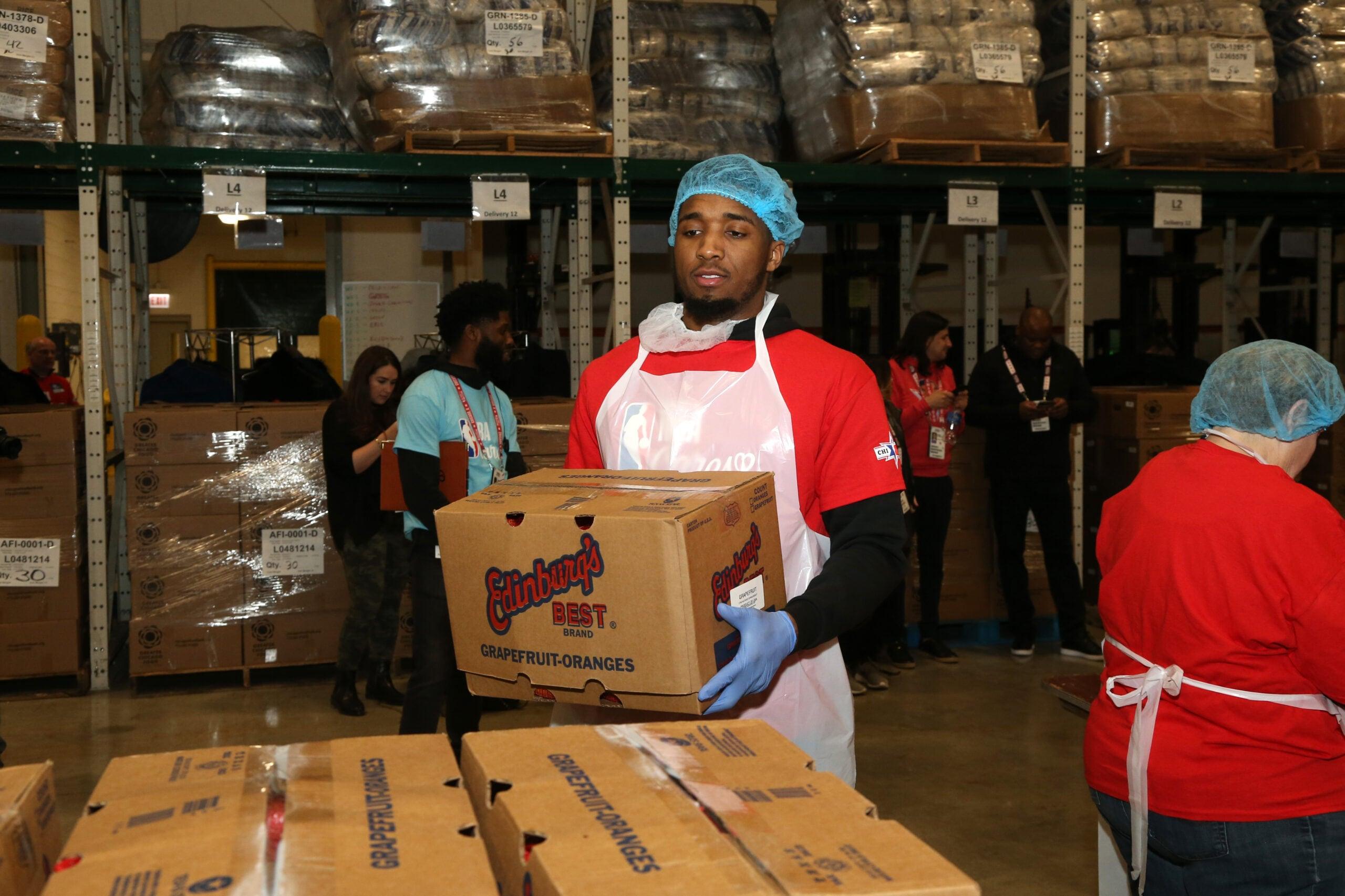 Donovan Mitchell receives offseason NBA Cares Community Assist Award