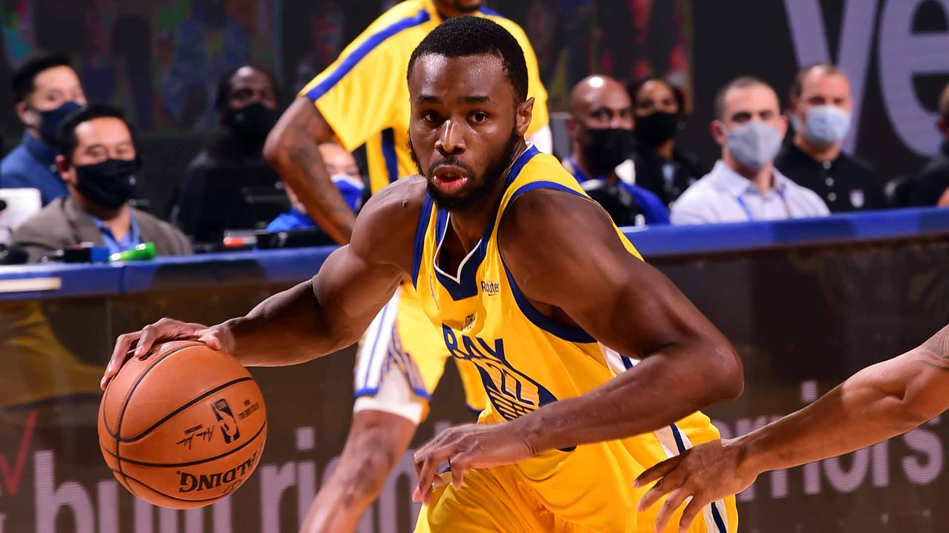 Warriors' Andrew Wiggins benefiting from change of scenery