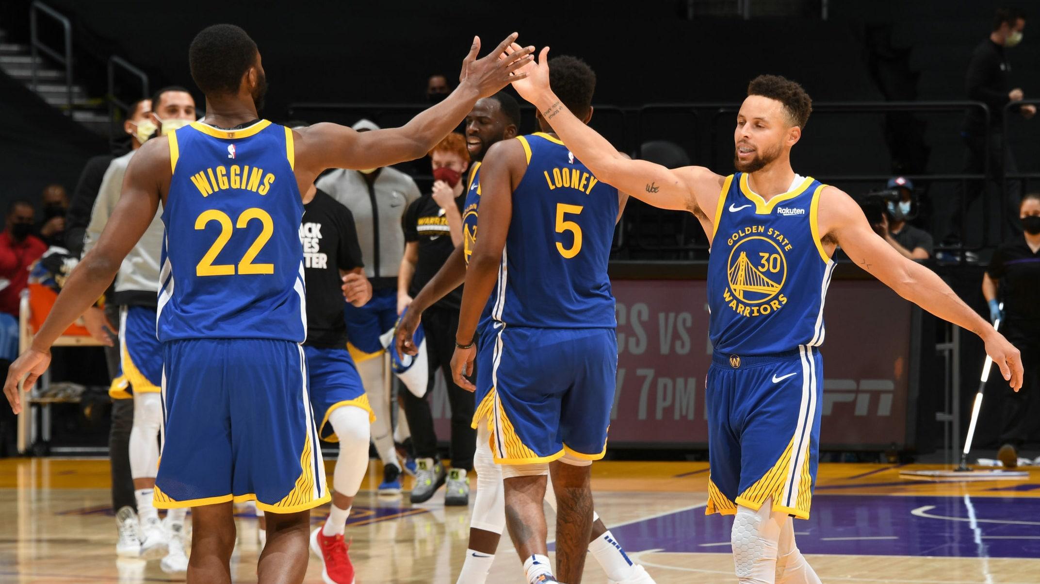 Warriors Mount Big Comeback To Stun Lakers