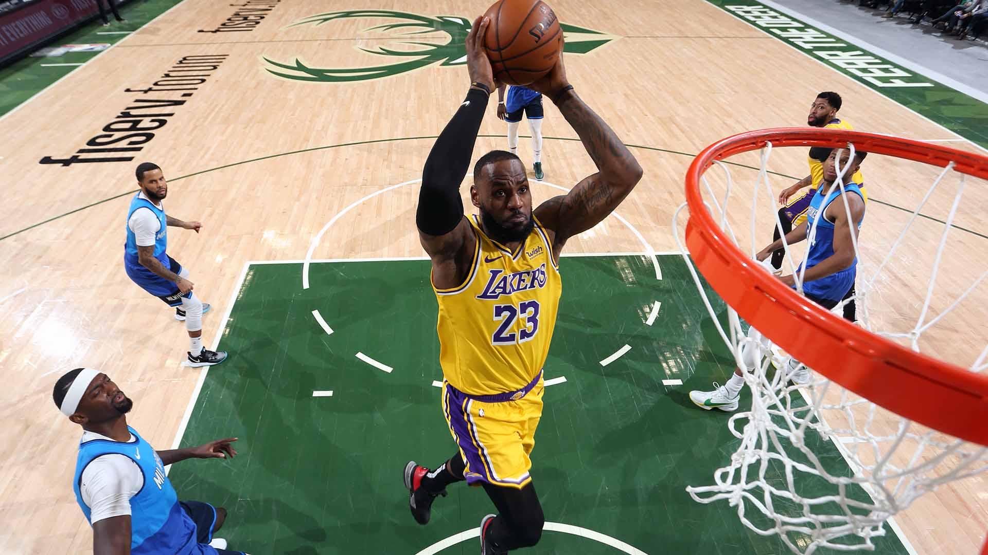 Top Plays From Lakers' 10-Game Road Win Streak