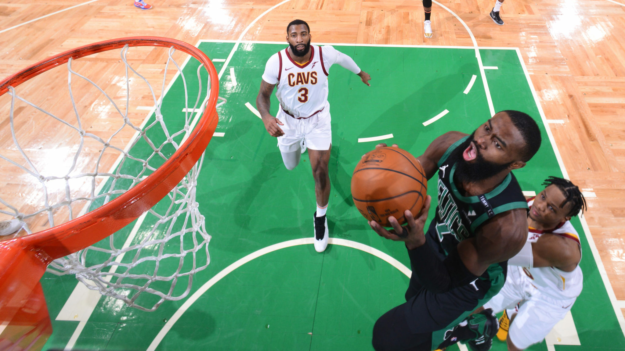 Behind Brown, Celtics Cool Off Cavs In Rout