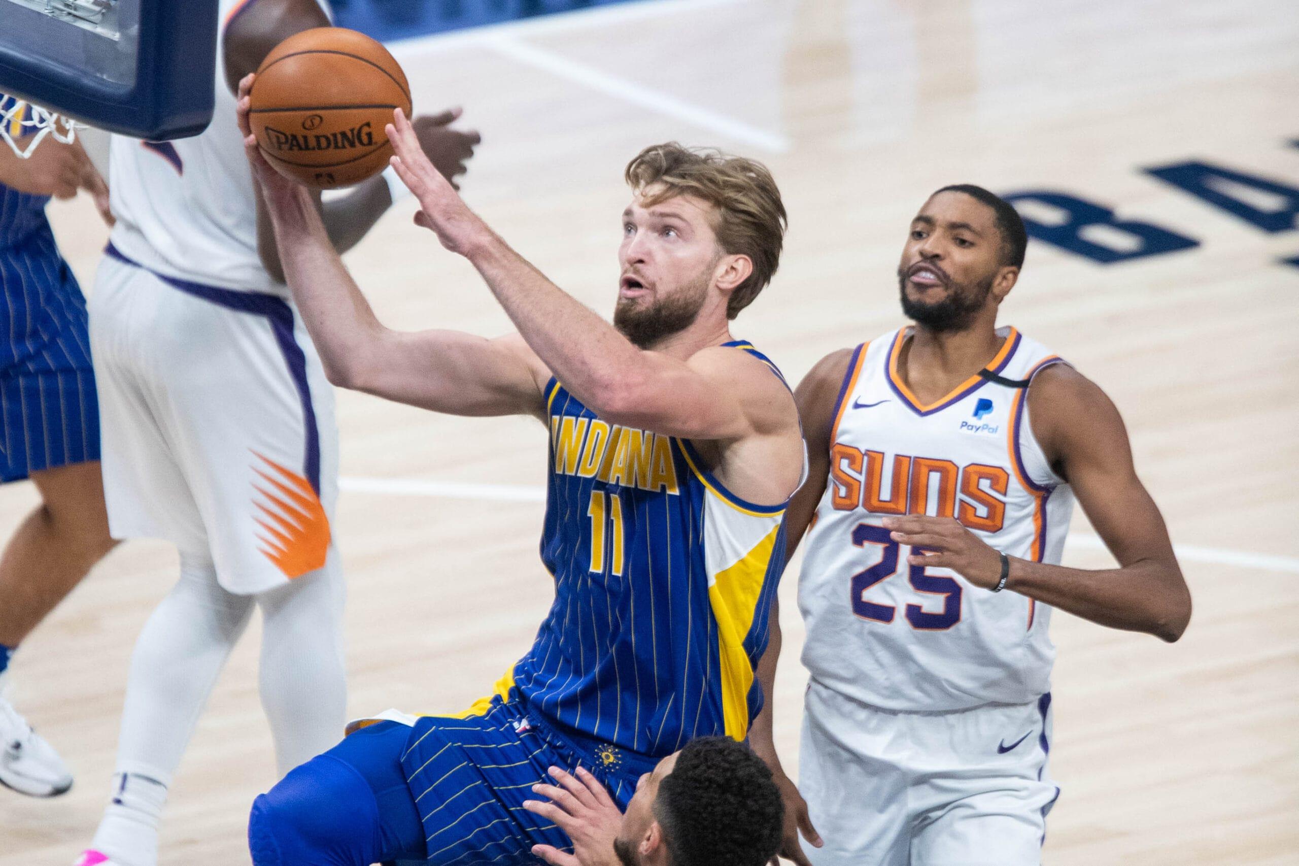 Sabonis burns Suns for 28 points, 22 rebounds