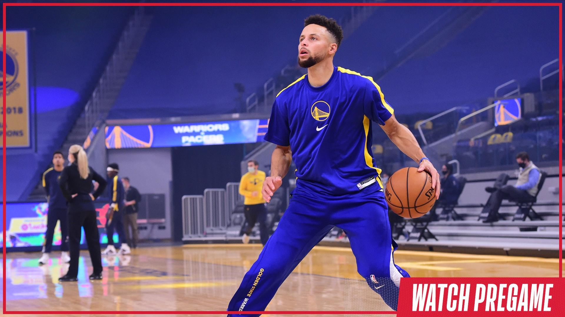 Watch Free: Spurs vs. Warriors Pregame