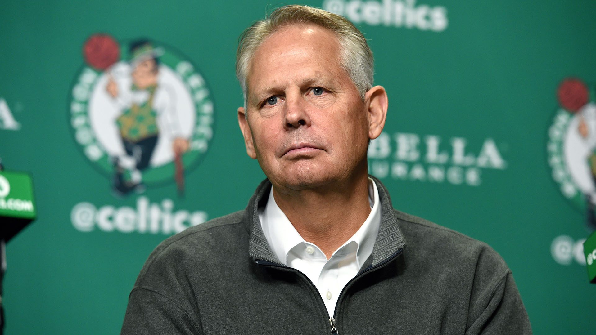 Danny Ainge says he believes Celtics will play Friday