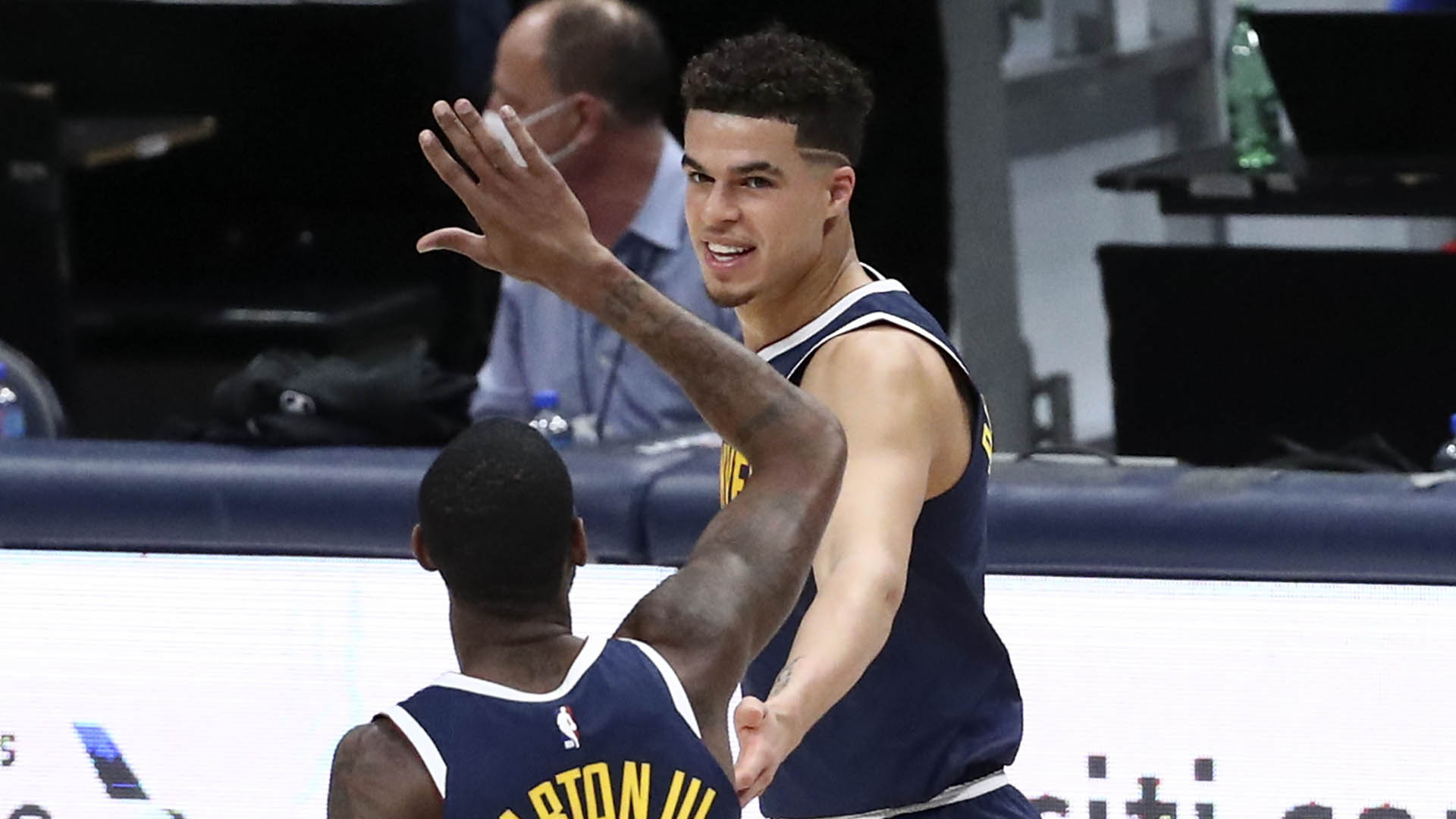 As early-season Kia MVP candidates face off, Michael Porter Jr. steals show