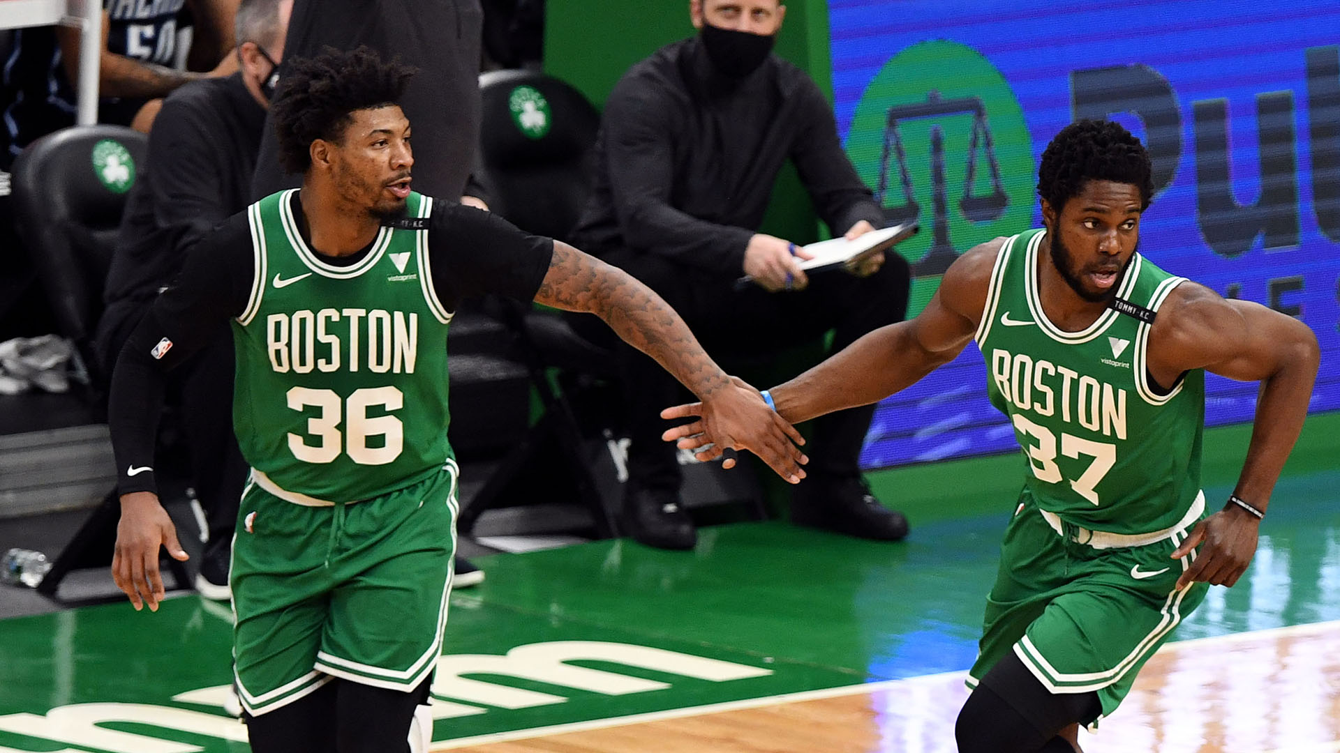 Balanced Attack Carries Celtics To 5th Straight Win