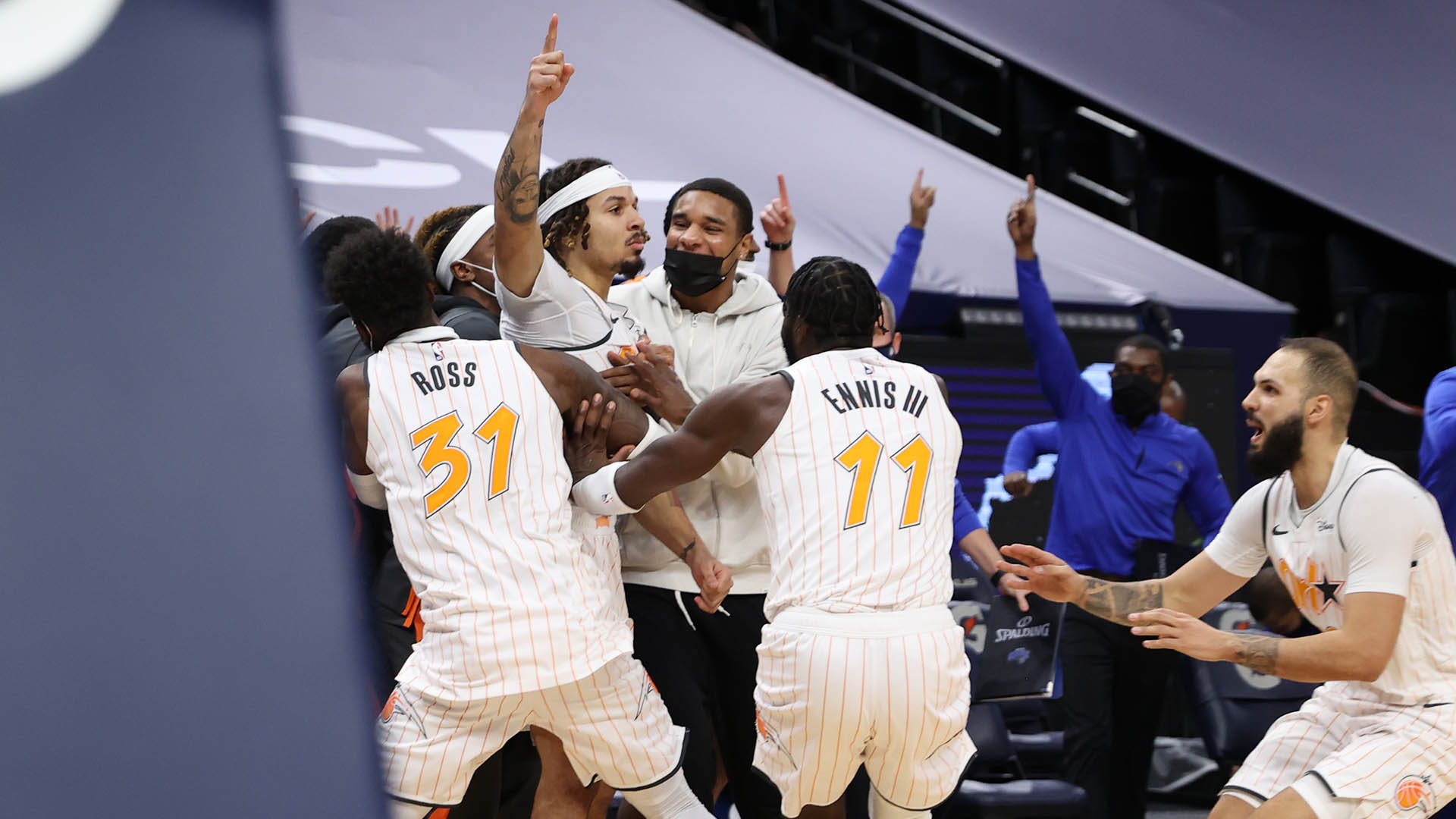 Horry Scale: Cole Anthony Puts Away Wolves