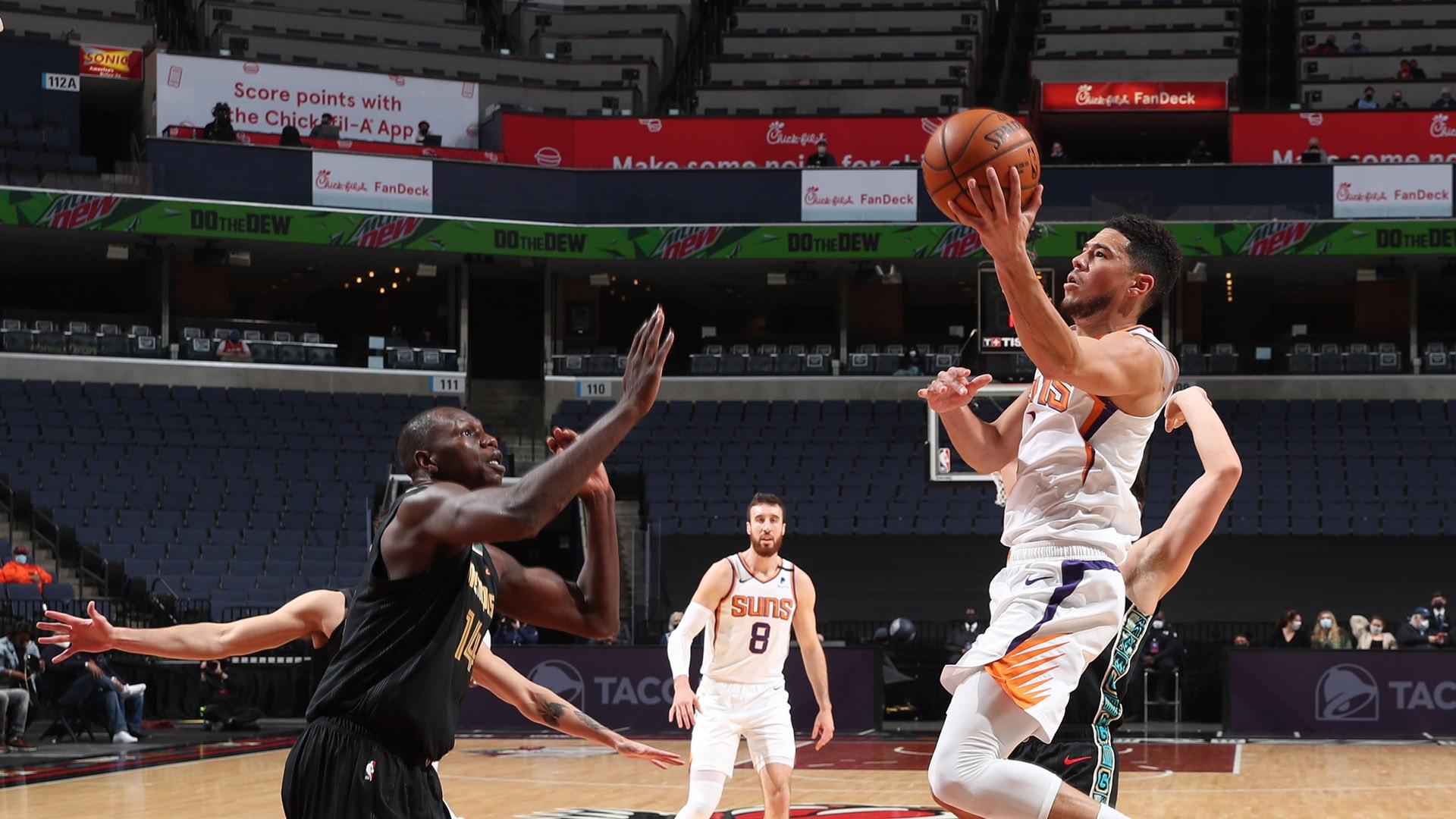 Superstar Guards Clash As Grizzlies Host Suns