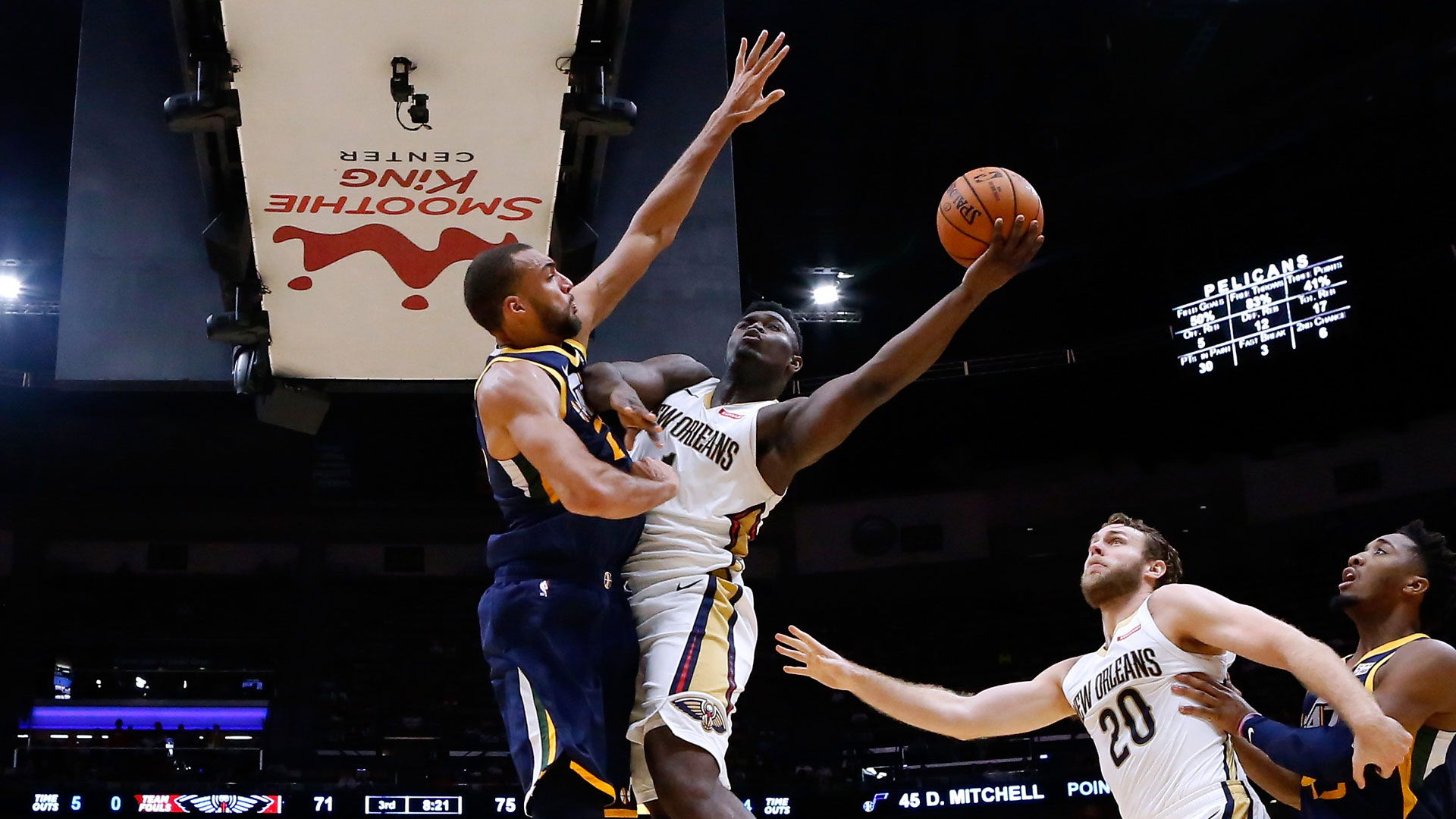 Tune-In Tidbits: Pelicans vs. Jazz on NBA TV