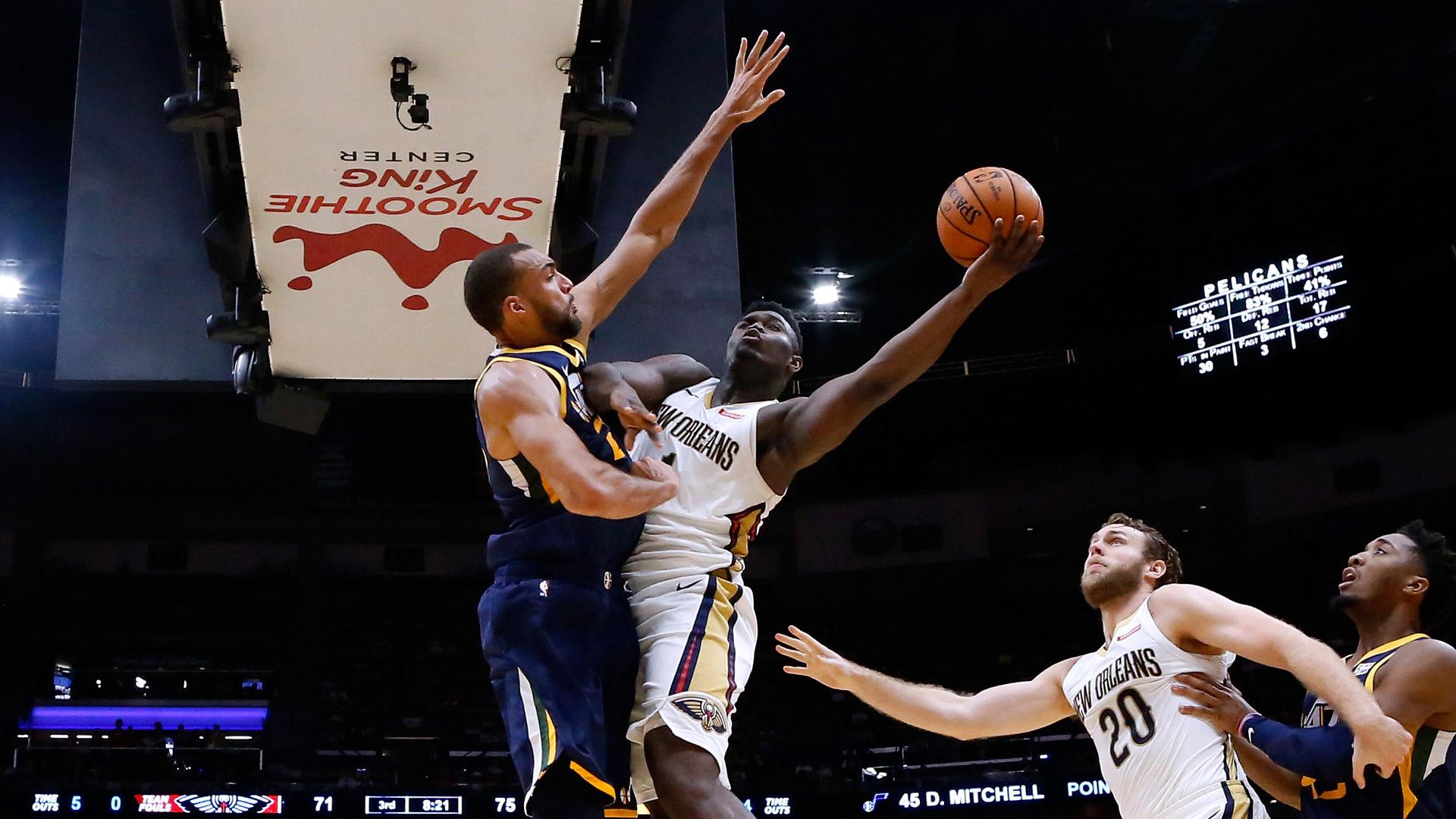 Tune-In Tidbits: Pelicans vs. Jazz on NBA TV