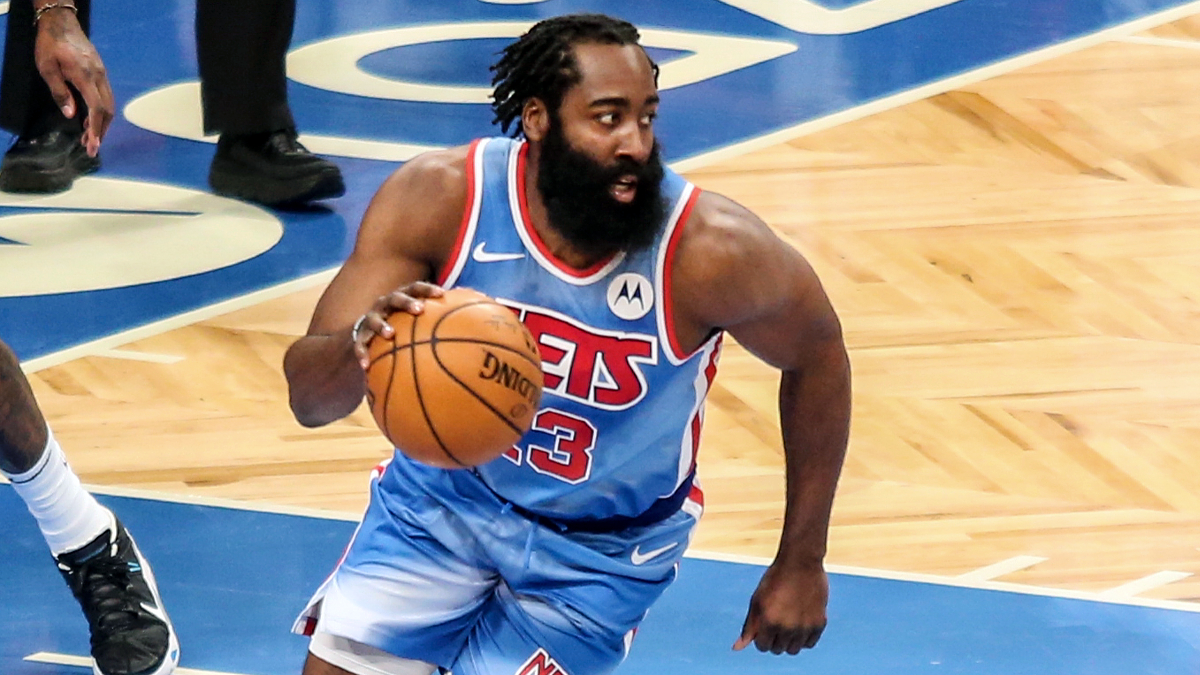 No practice, no problem: Harden posts triple-double in Nets debut
