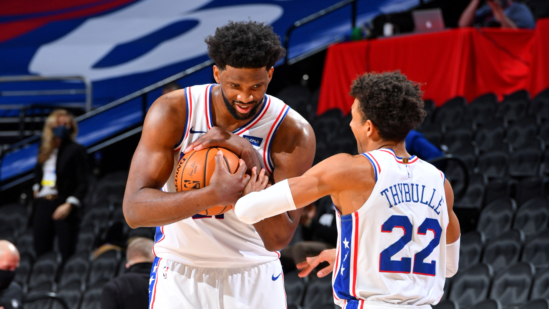 Embiid Returns To Dominate Celtics In 76ers' Victory