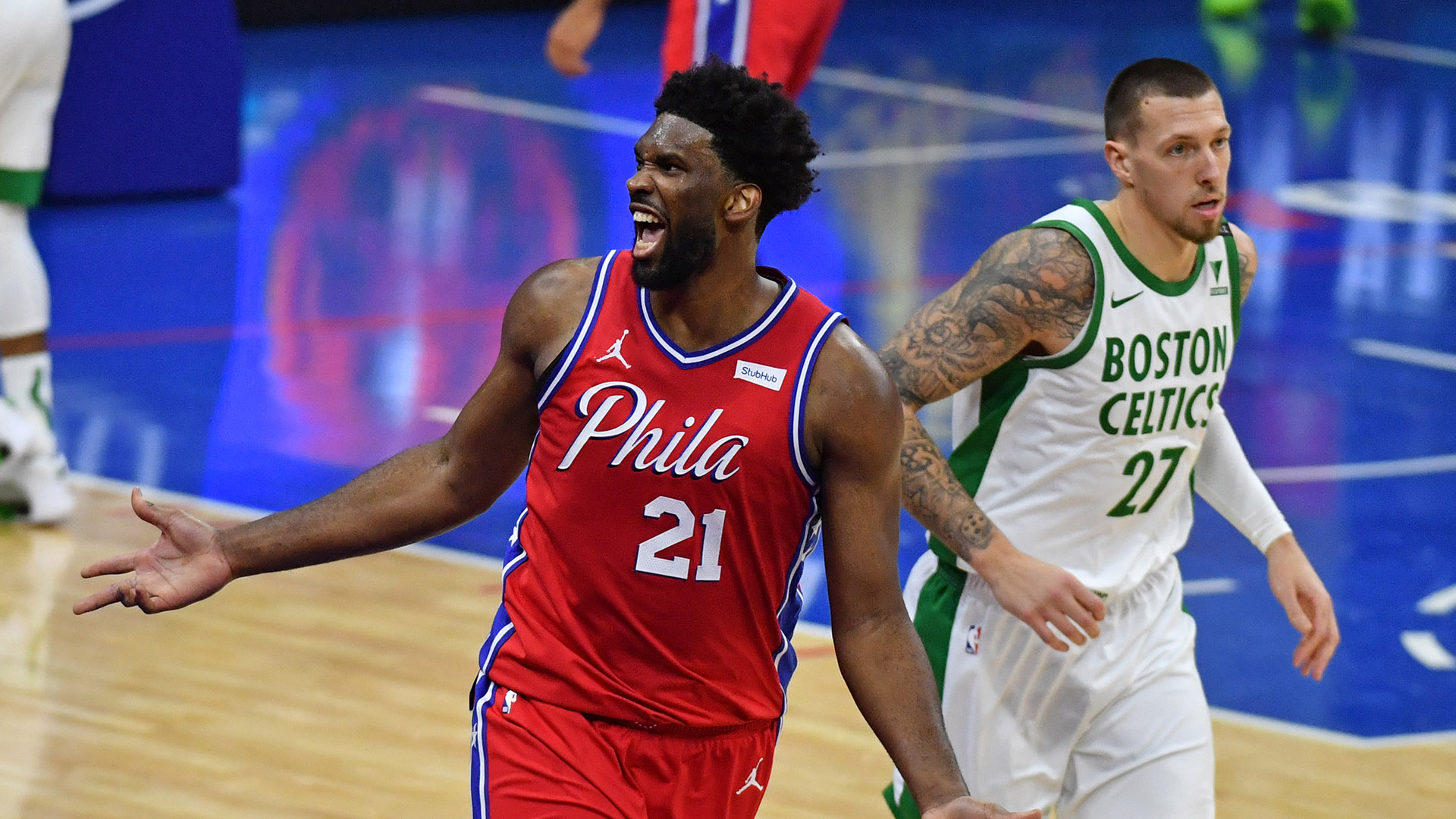 Embiid Delivers As 76ers Spoil Brown's Big Performance