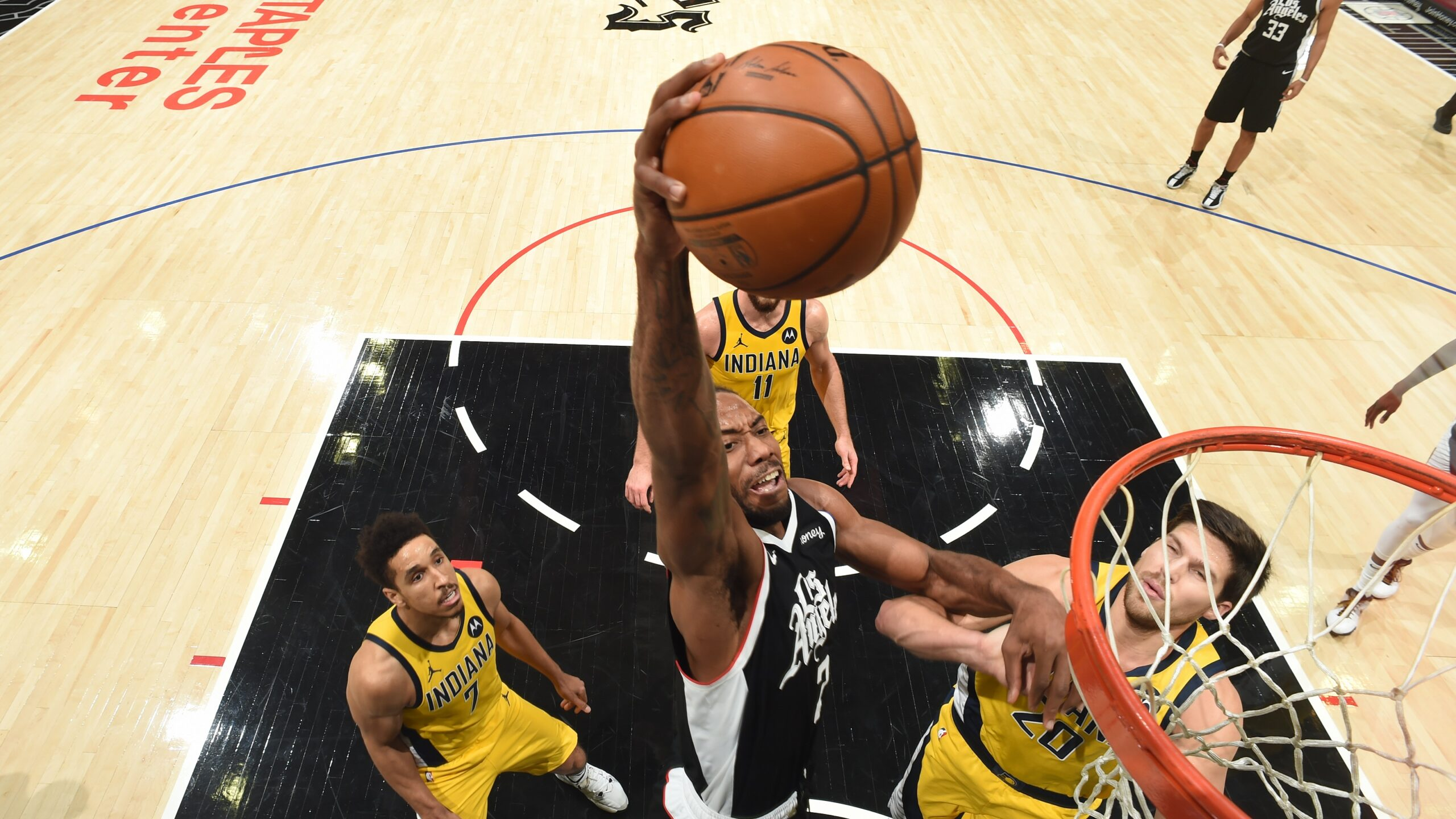 Clippers Overpower Pacers With Latest Onslaught