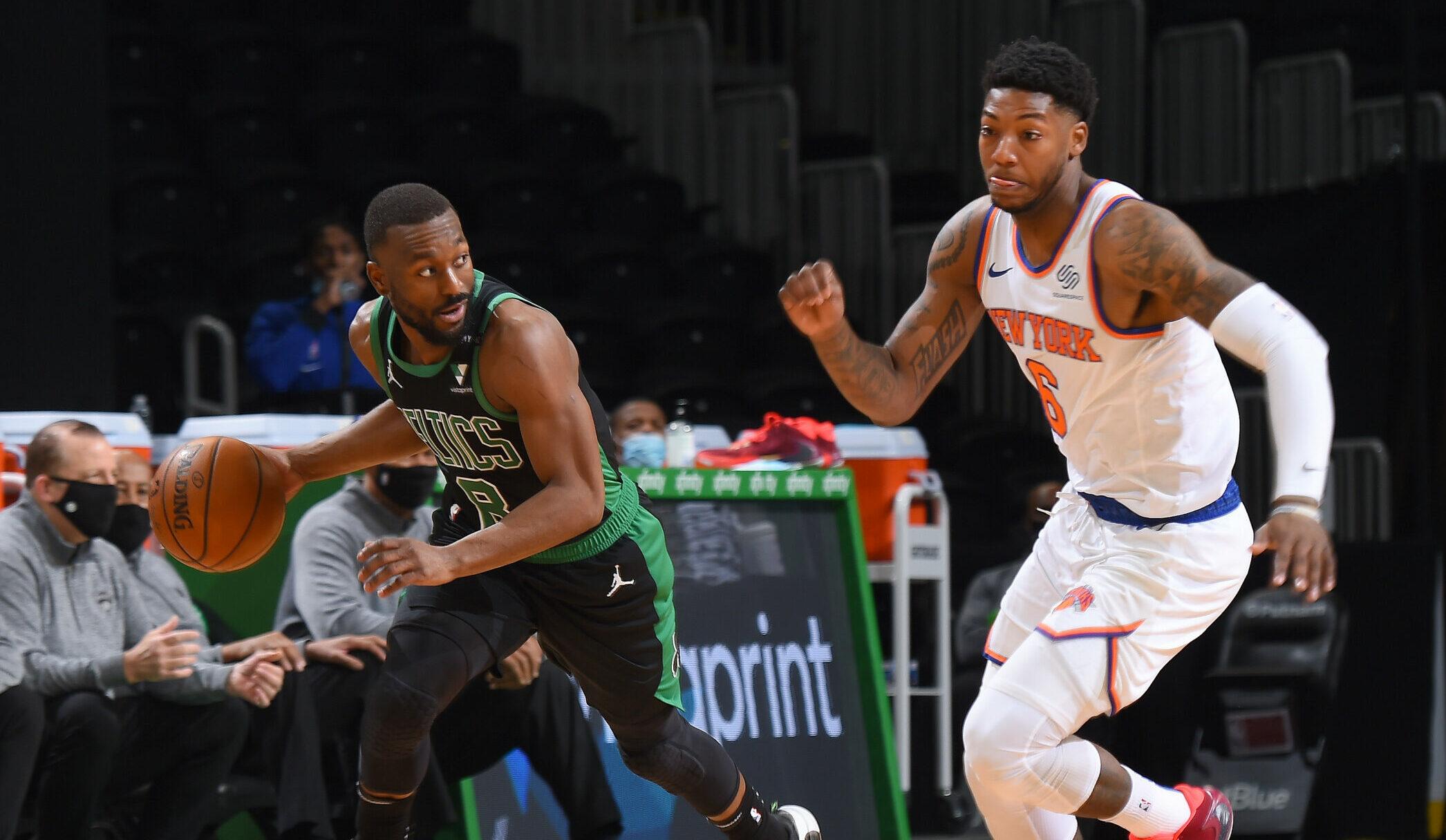 Kemba Walker plays against Knicks in blowout loss