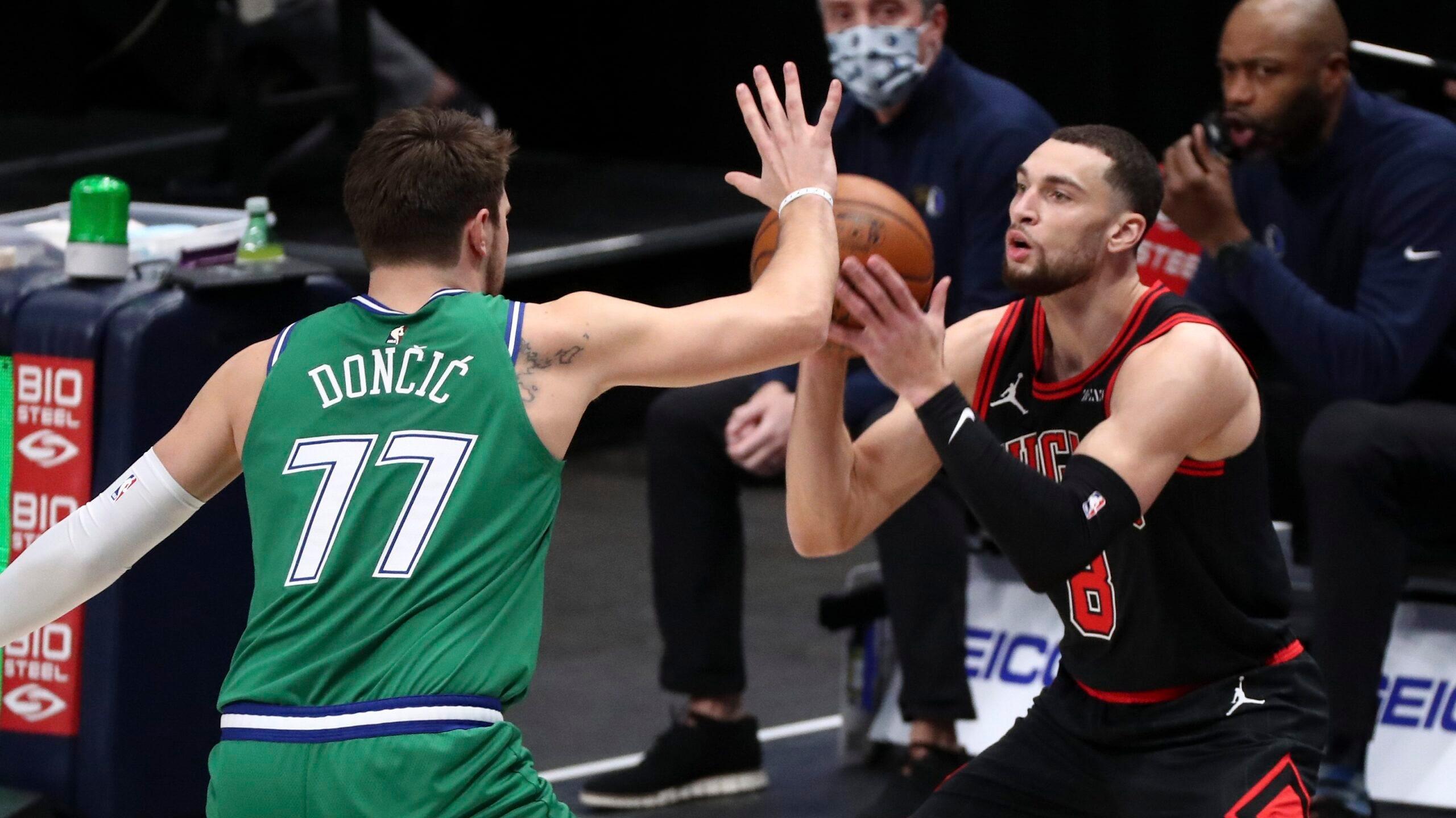 Bulls Blow By Mavs Despite Doncic's Huge Triple-Double