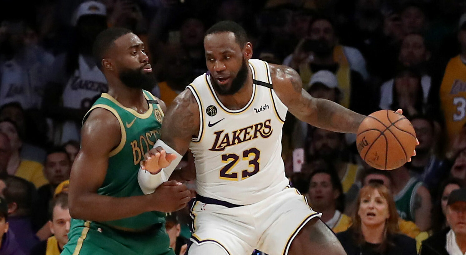 The Lakers, Celtics, LeBron James, and the Number 18