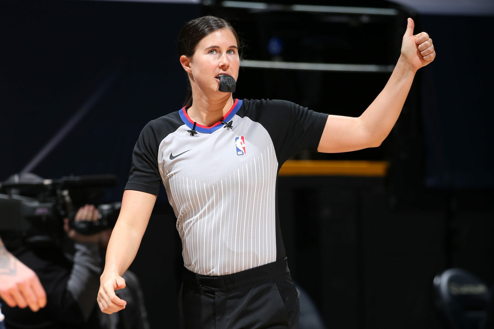 Natalie Sago, Jenna Schroeder to be part of NBA's first two-woman ref crew