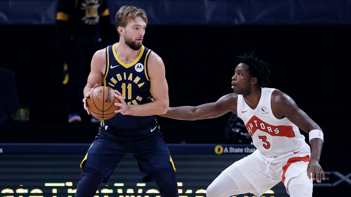 Domantas Sabonis exits with left knee injury, will not return