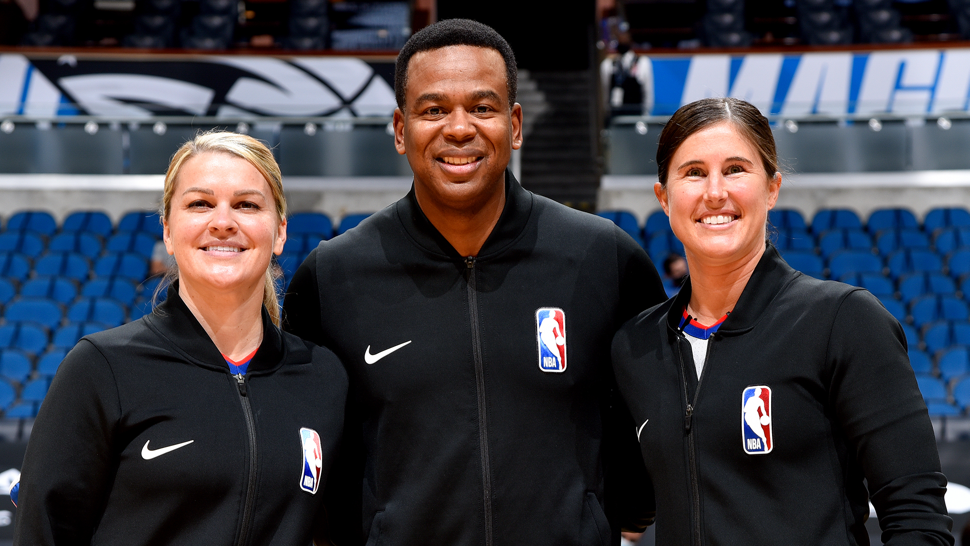 Sago, Schroeder part of NBA's first two-woman ref crew