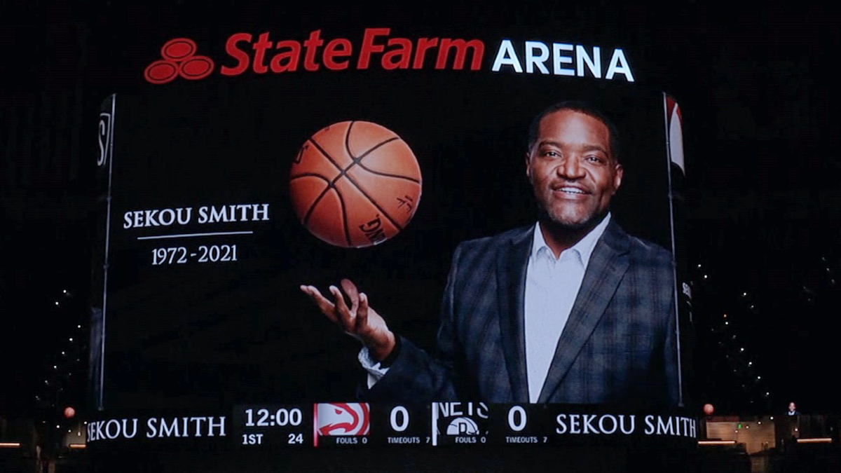 Hawks announce trio of tributes to Sekou Smith