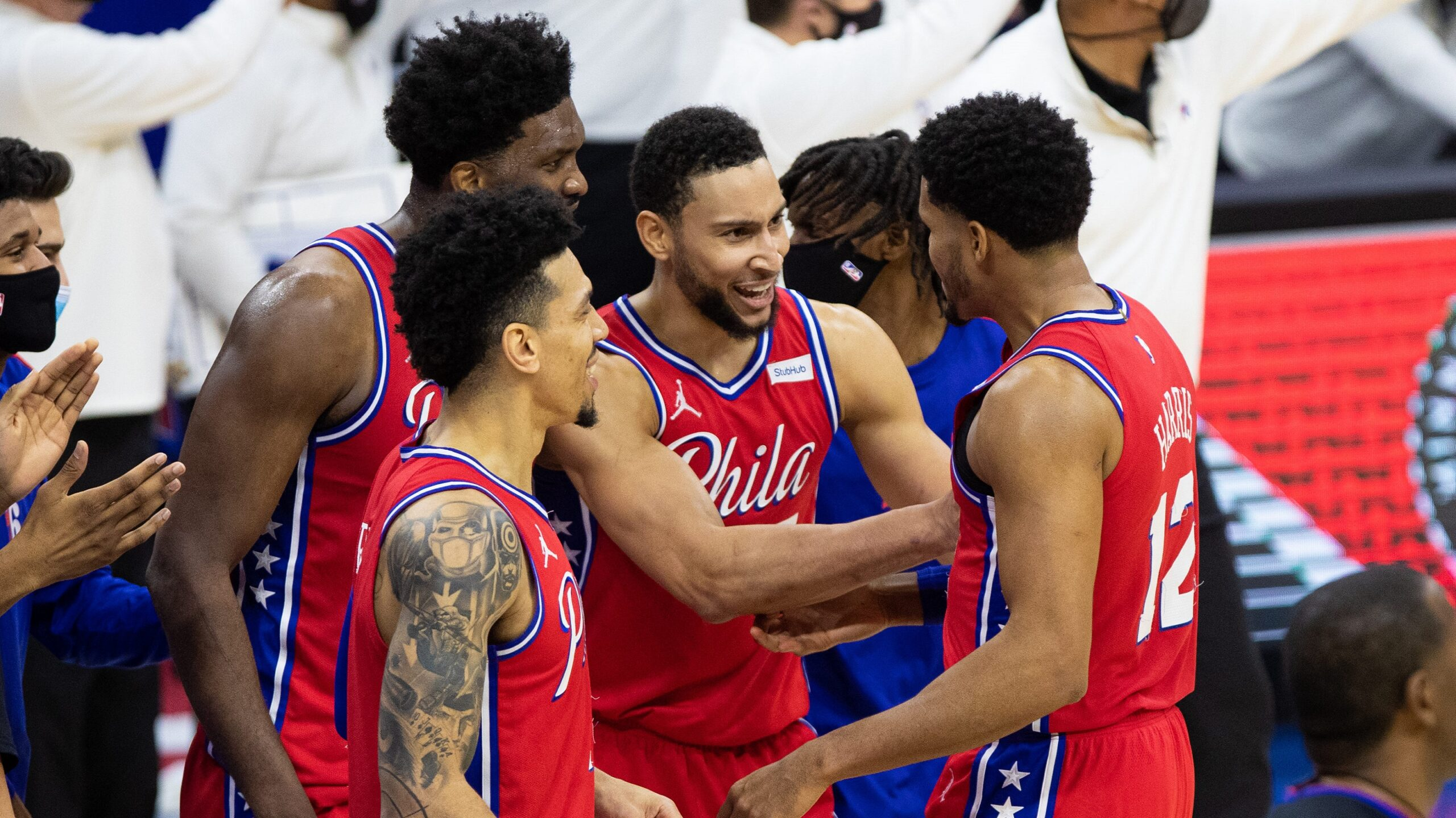 76ers Tag Lakers With 1st Road Loss On Harris' Winner
